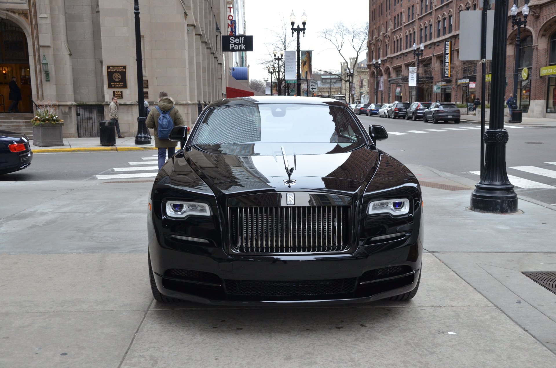 2017 rolls royce wraith black badge stock r375 s for sale near chicago il il rolls royce dealer. Black Bedroom Furniture Sets. Home Design Ideas