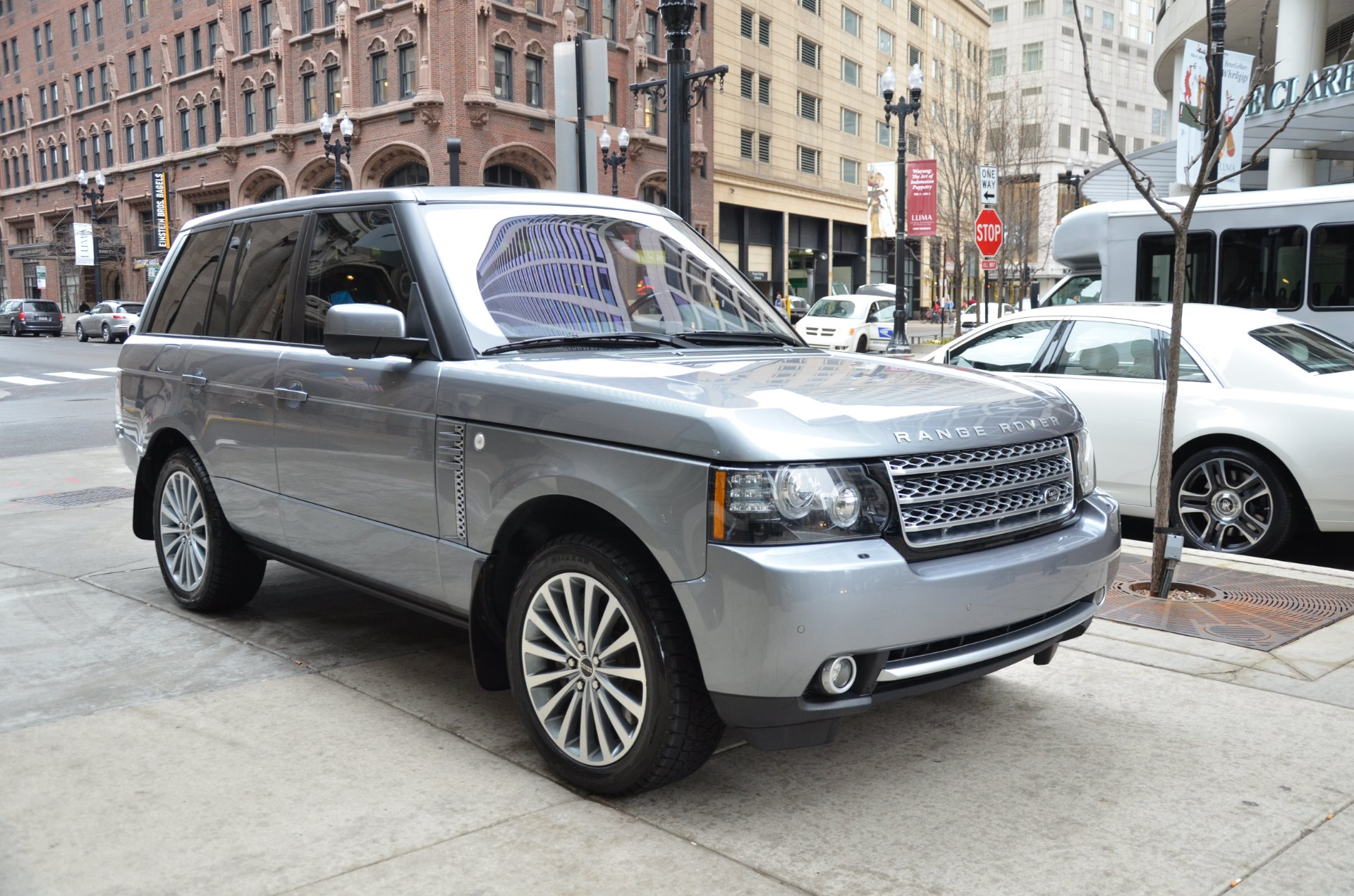 2012 land rover range rover supercharged stock gc roland147 for sale near chicago il il. Black Bedroom Furniture Sets. Home Design Ideas