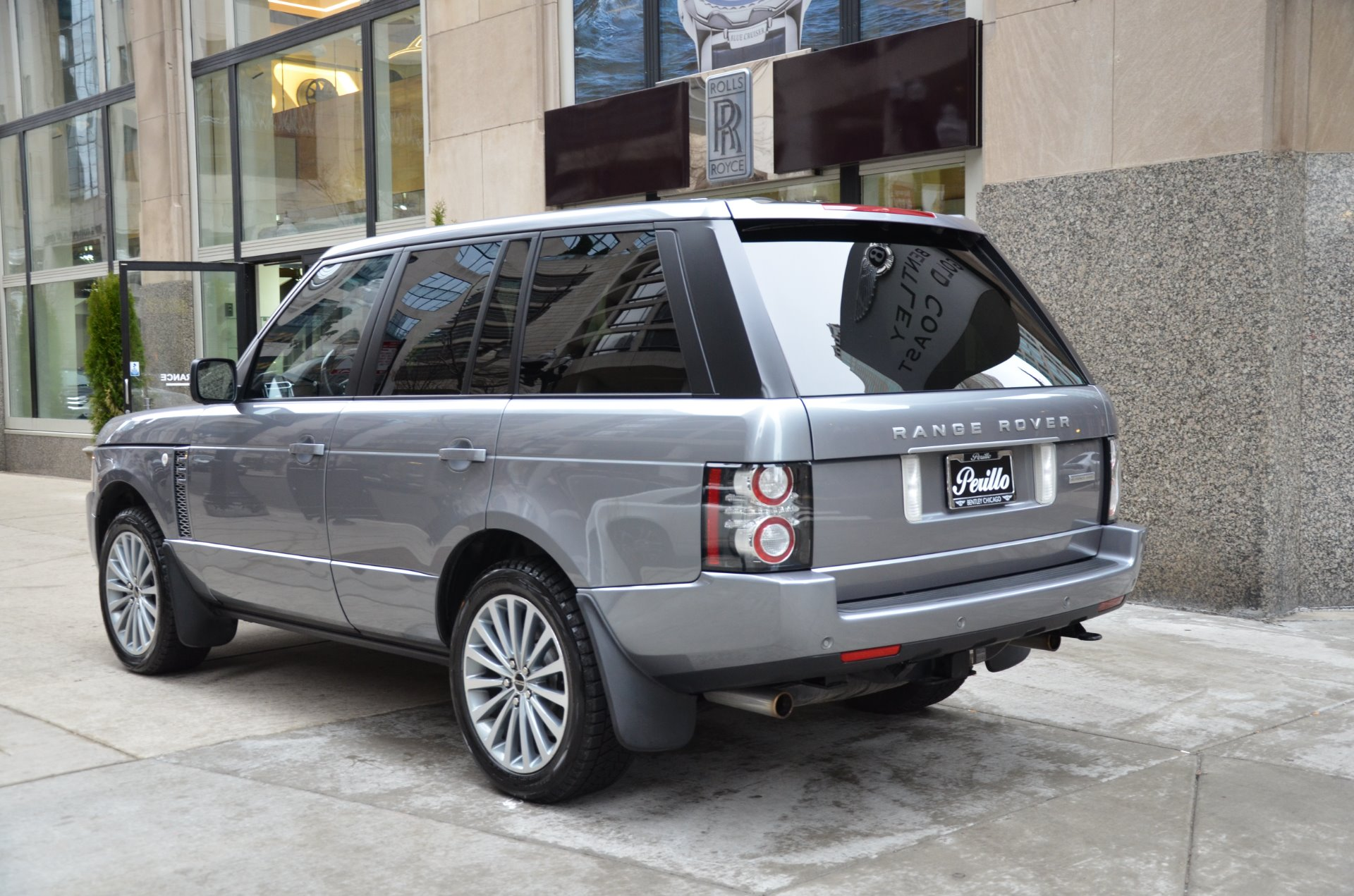 2012 land rover range rover supercharged stock gc roland147 for sale near chicago il il - Land rover garage near me ...