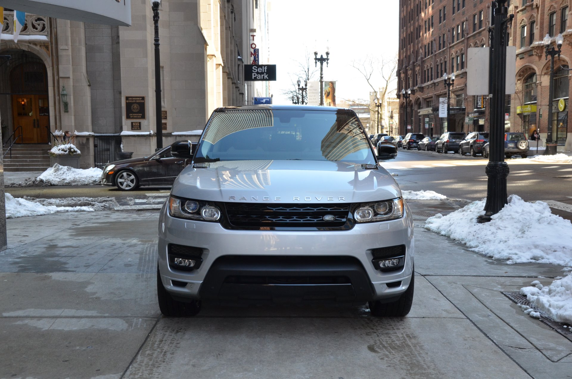 2015 land rover range rover sport autobiography stock gc2036a for sale near chicago il il. Black Bedroom Furniture Sets. Home Design Ideas
