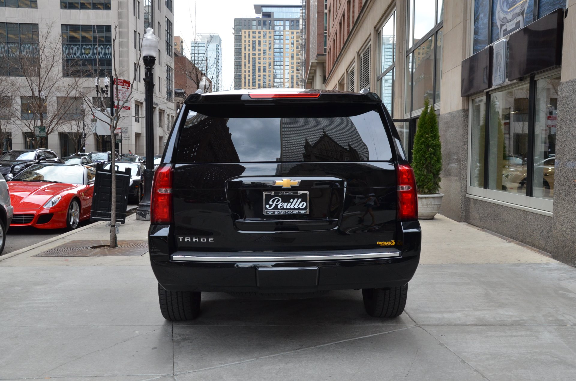 2016 chevrolet tahoe ltz stock m468a for sale near chicago il il chevrolet dealer. Black Bedroom Furniture Sets. Home Design Ideas