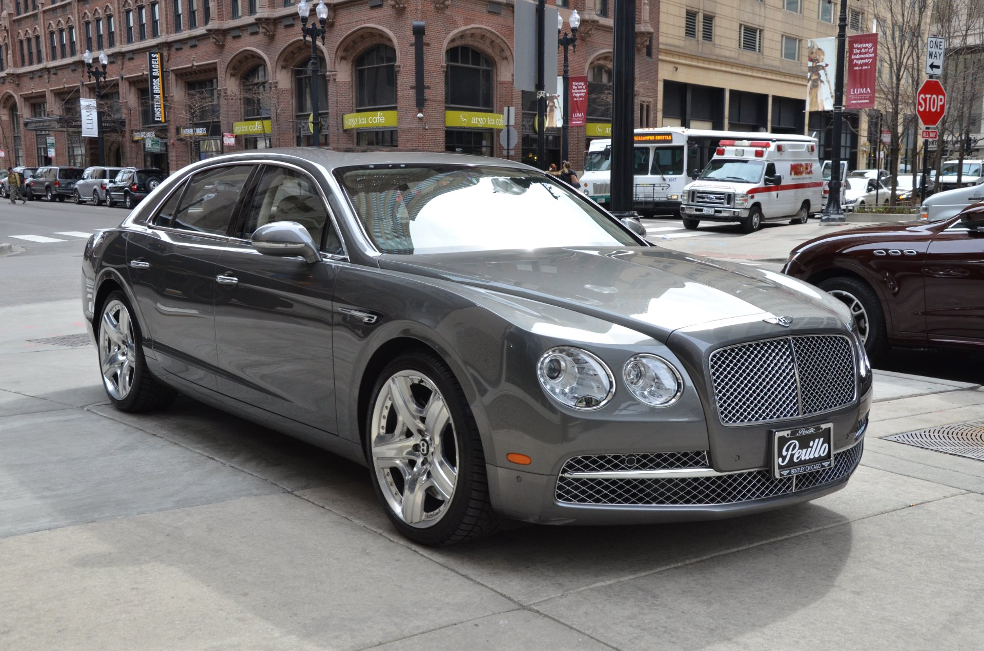 2014 Bentley Flying Spur W12 Stock B883A for sale near Chicago IL