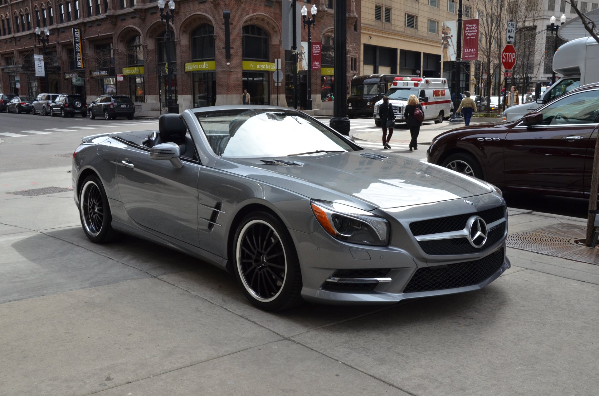 2014 mercedes benz sl class sl 550 stock gc roland148. Black Bedroom Furniture Sets. Home Design Ideas