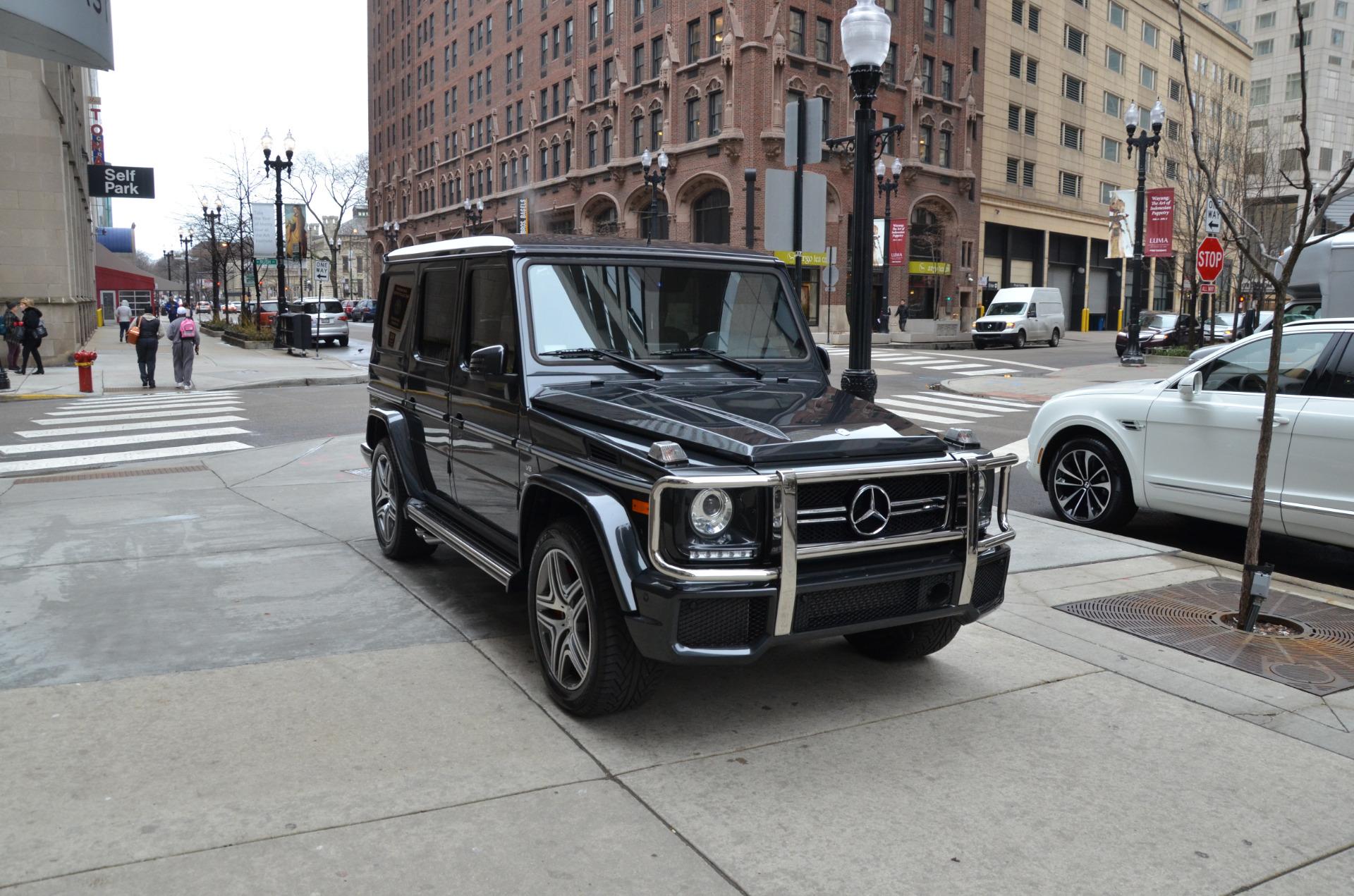 2015 mercedes benz g class g 63 amg stock b889a for sale for Mercedes benz dealer chicago