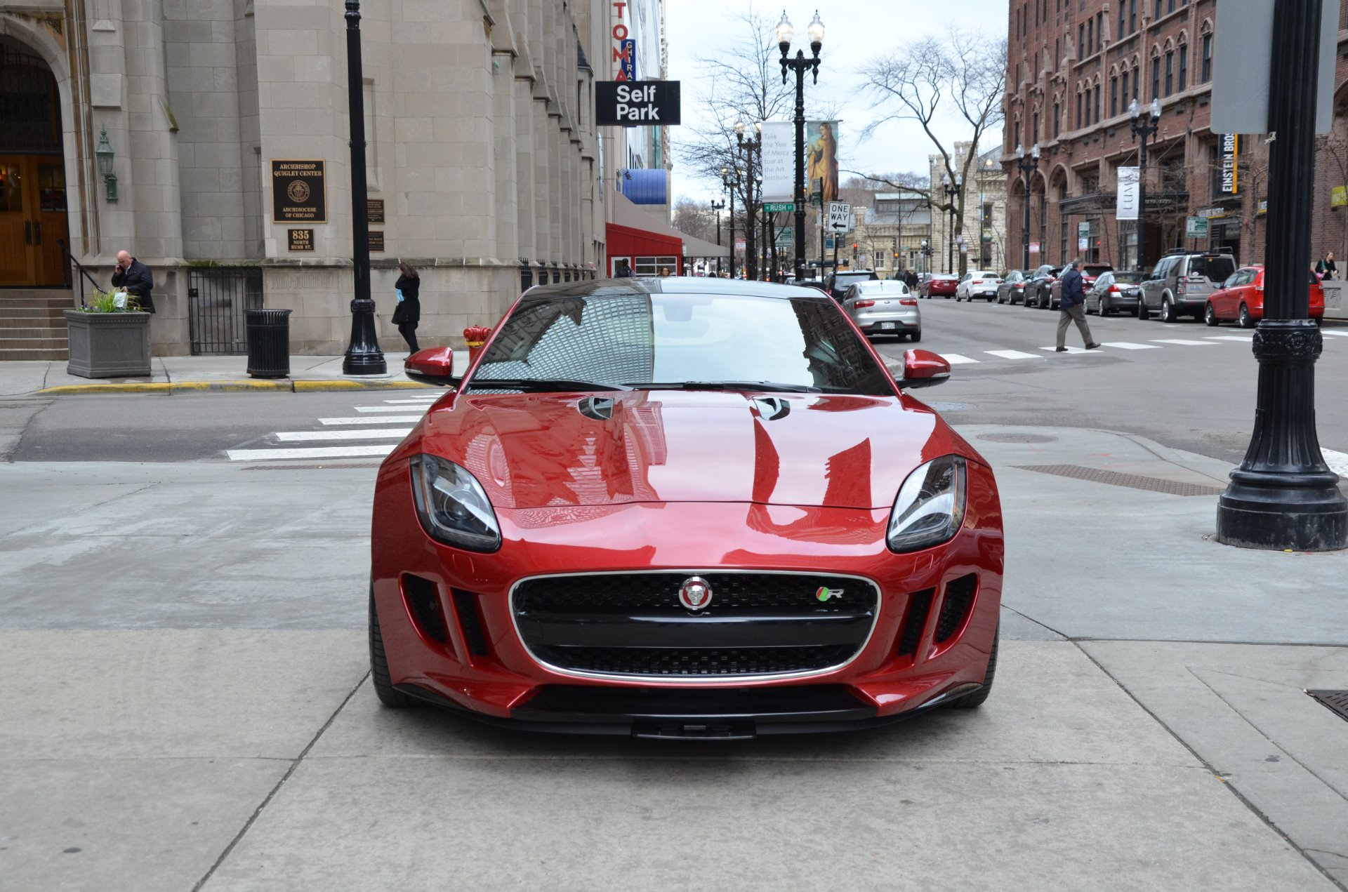 2015 jaguar f type r stock b912a for sale near chicago. Black Bedroom Furniture Sets. Home Design Ideas