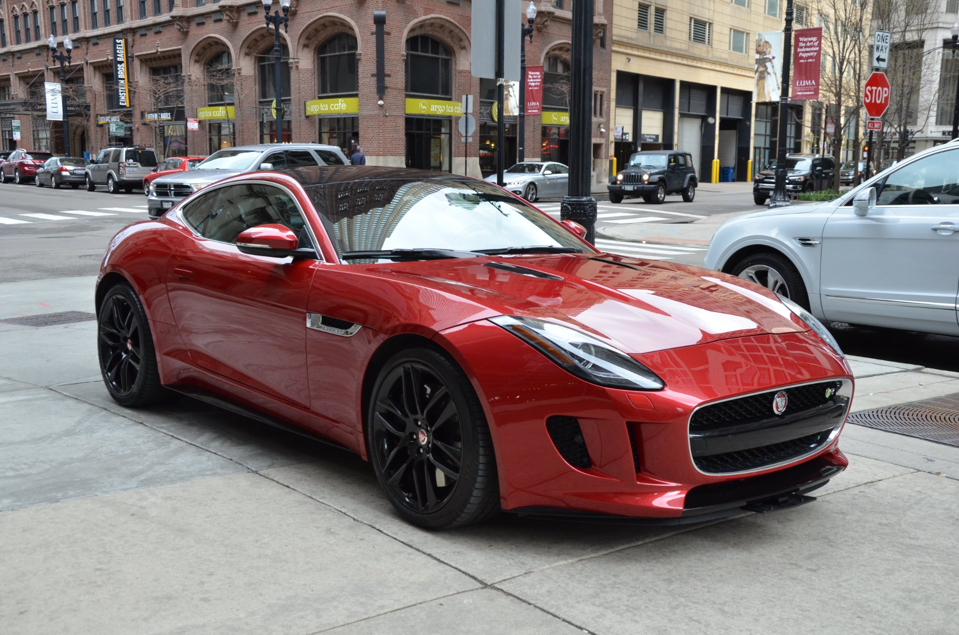 2015 jaguar f type r stock b912a for sale near chicago il il jaguar dealer. Black Bedroom Furniture Sets. Home Design Ideas