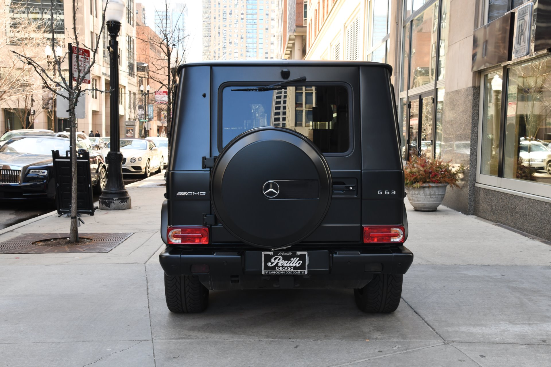 2016 mercedes benz g class amg g 63 stock b1058a for for Mercedes benz dealers in illinois