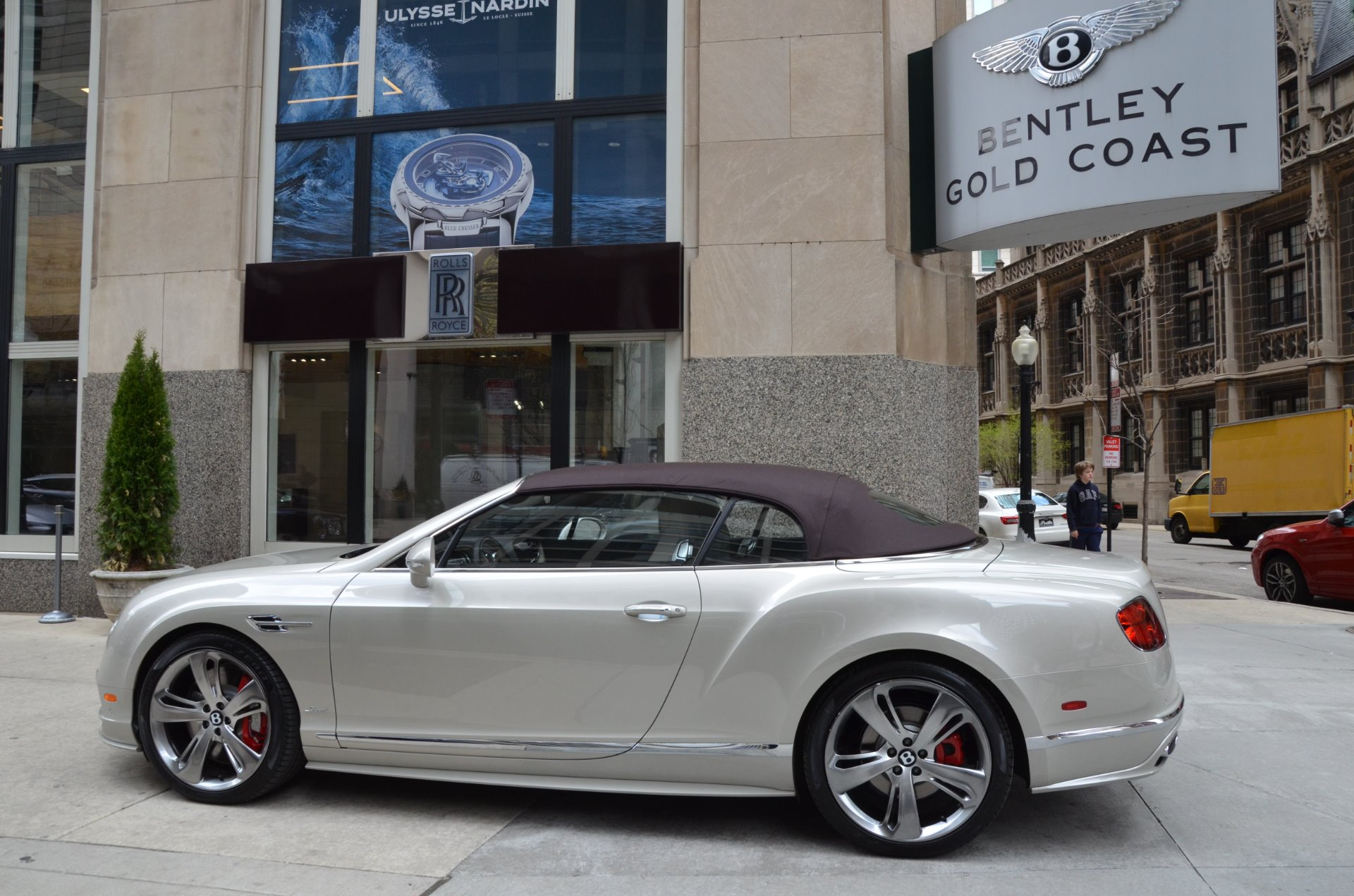 Used 2017 Bentley Continental GT Speed Convertible GT Speed | Chicago, IL
