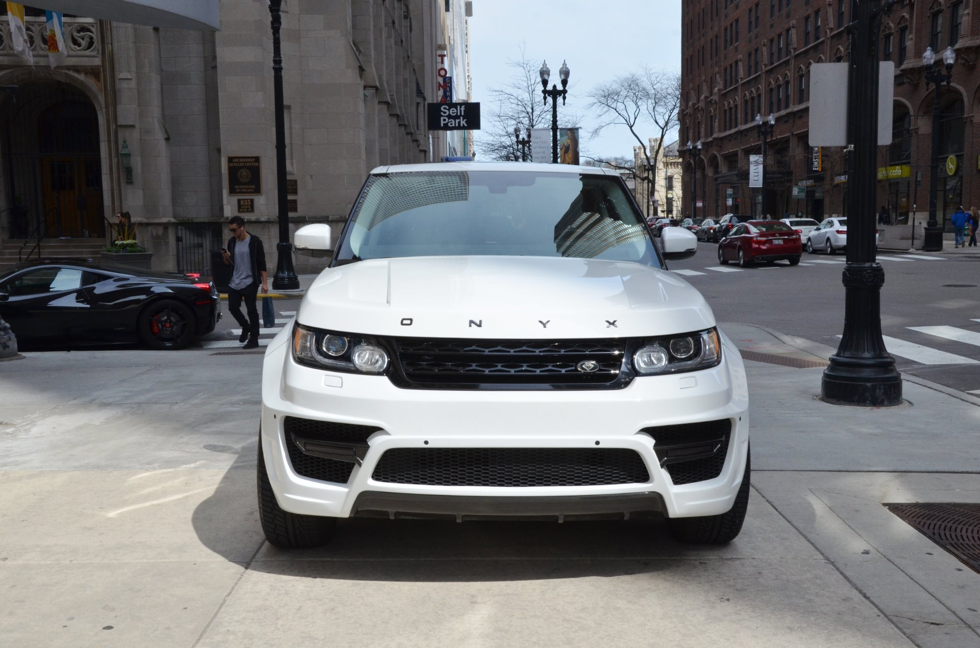 2014 land rover range rover sport supercharged stock r328ab for sale near chicago il il. Black Bedroom Furniture Sets. Home Design Ideas