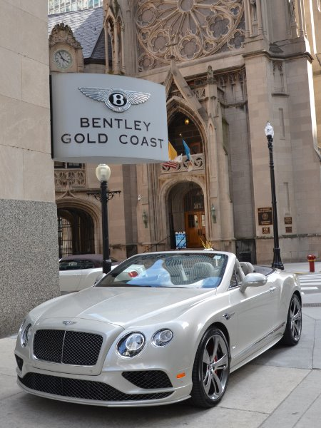 2017 Bentley Continental GTC Speed