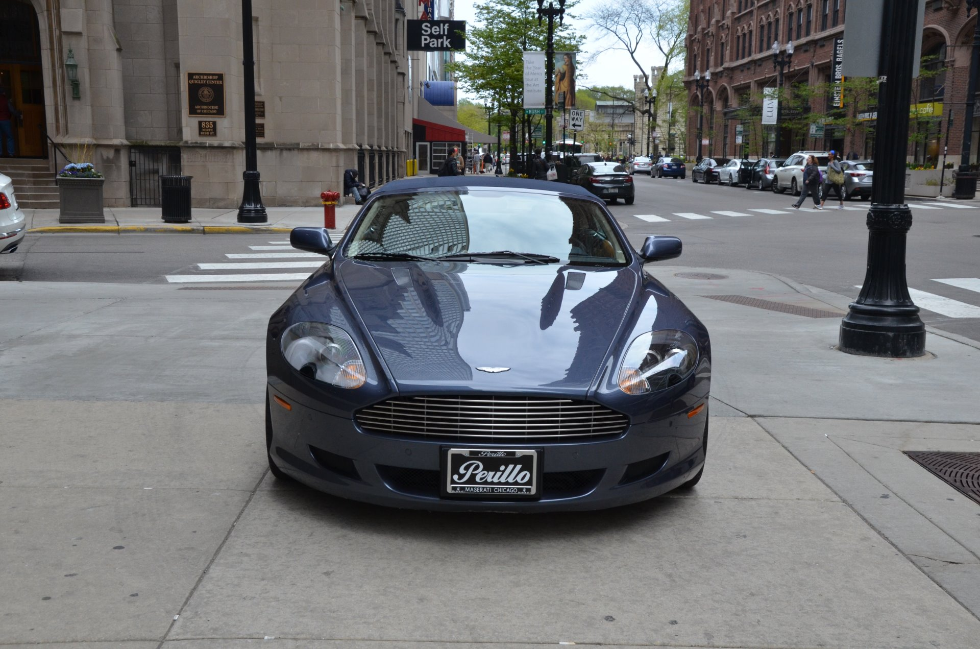 2007 aston martin db9 volante stock b893a for sale near chicago il il aston martin dealer. Black Bedroom Furniture Sets. Home Design Ideas
