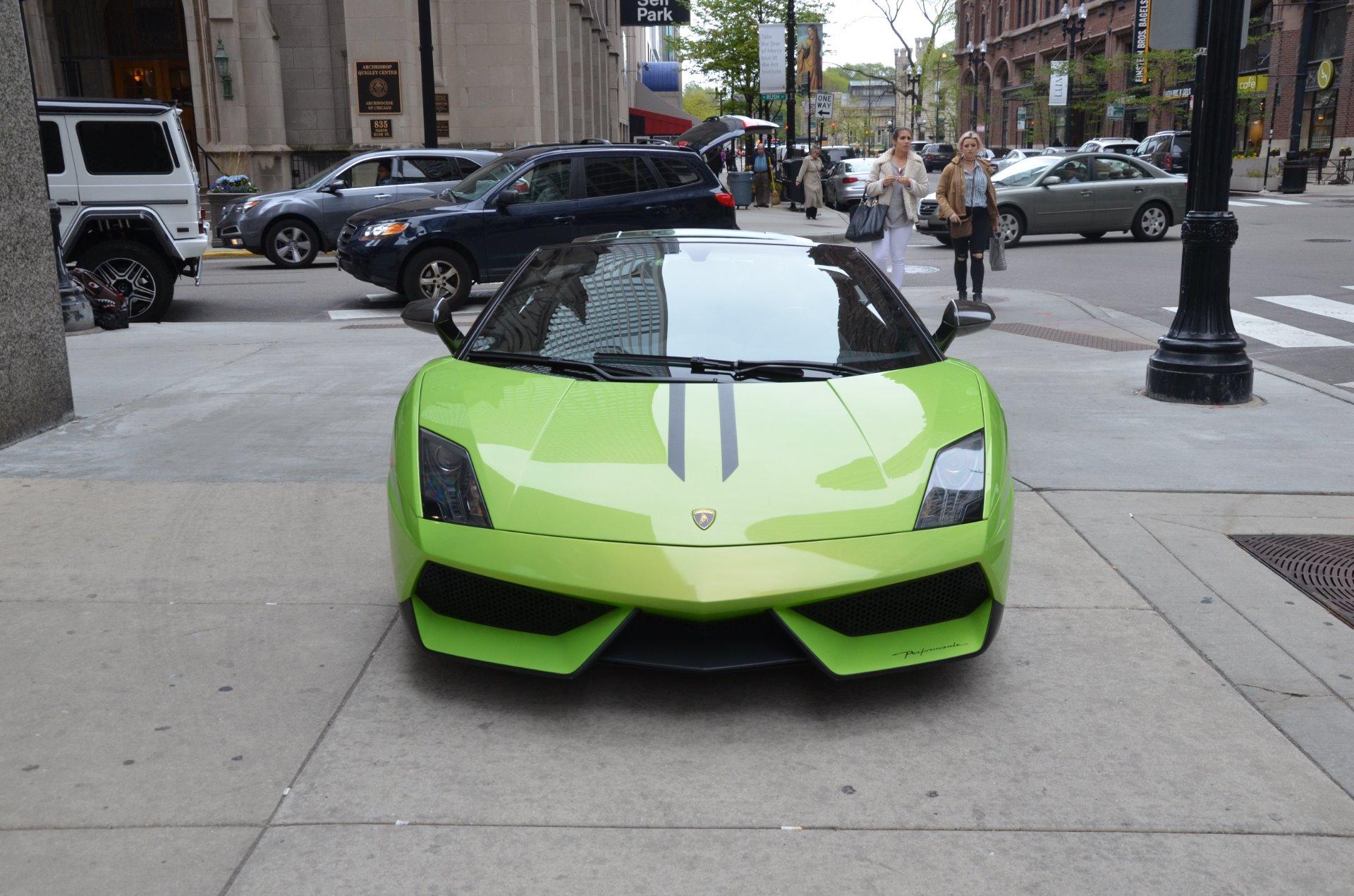 Used 2012 Lamborghini Gallardo Spyder LP 570 4 Spyder Performante    Chicago, IL