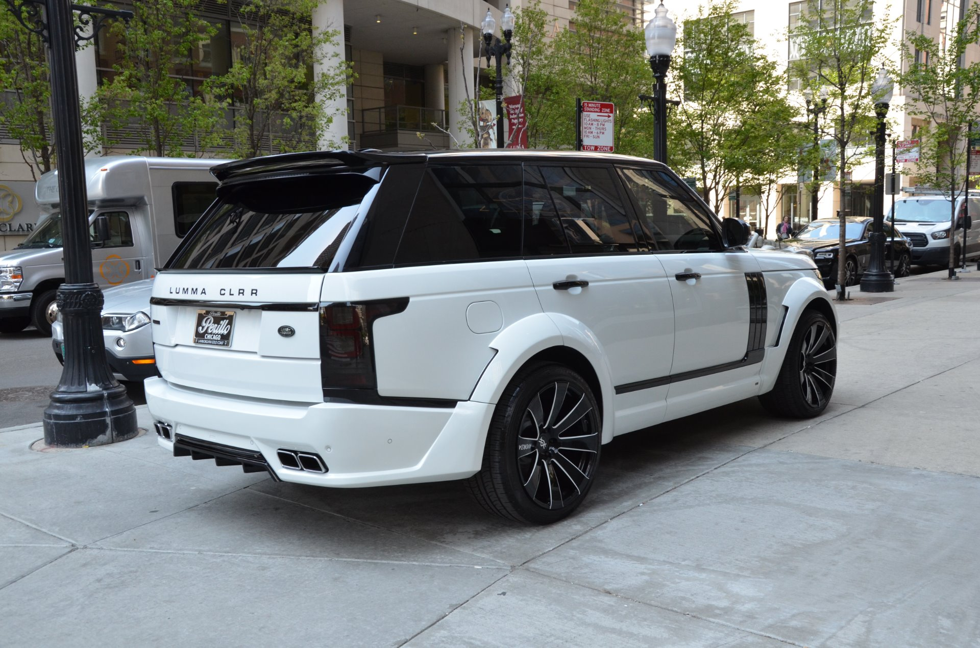 2015 land rover range rover supercharged stock 12734 for sale near chicago il il land rover. Black Bedroom Furniture Sets. Home Design Ideas