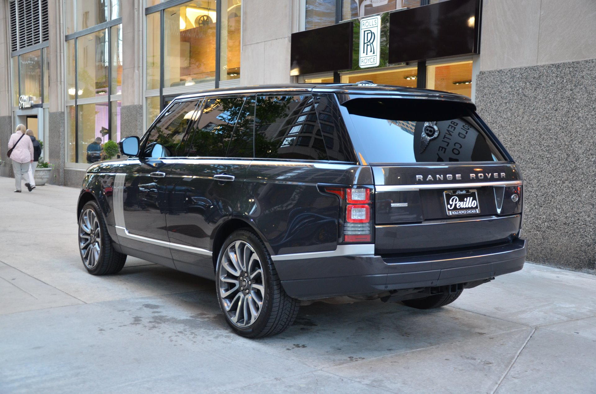2014 land rover range rover autobiography stock r404aa for sale near chicago il il land. Black Bedroom Furniture Sets. Home Design Ideas
