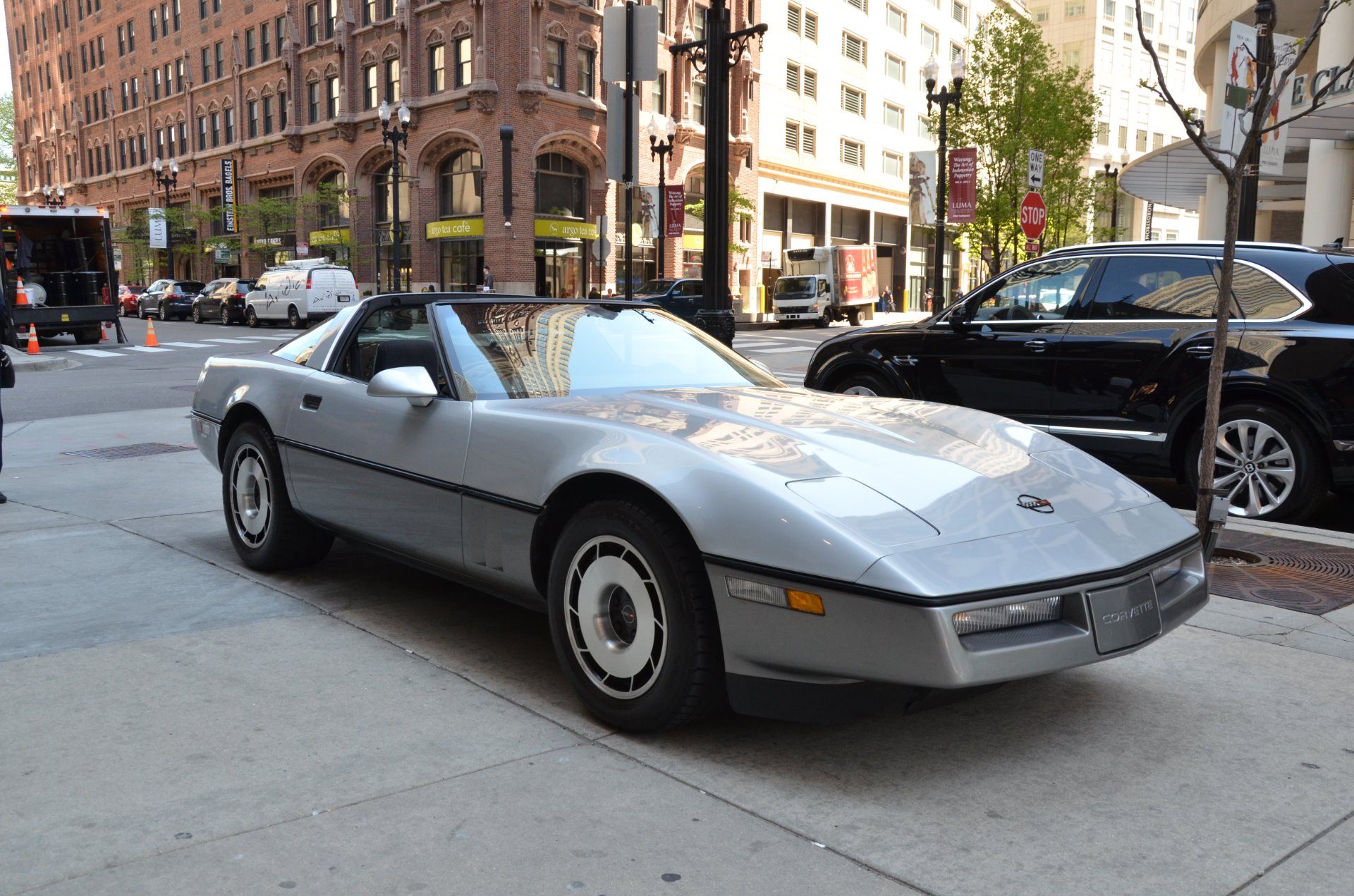 1985 chevrolet corvette stock l319aab for sale near chicago il il chevrolet dealer. Black Bedroom Furniture Sets. Home Design Ideas