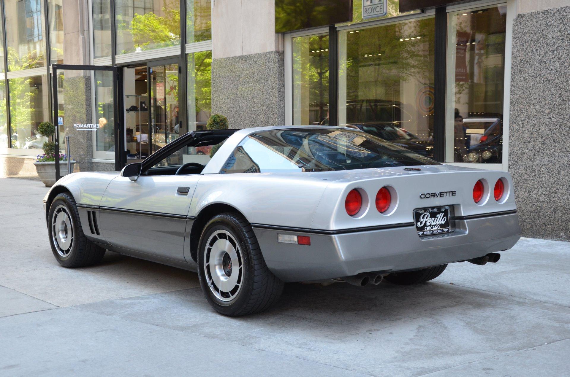 1985 chevrolet corvette stock l319aab for sale near. Black Bedroom Furniture Sets. Home Design Ideas