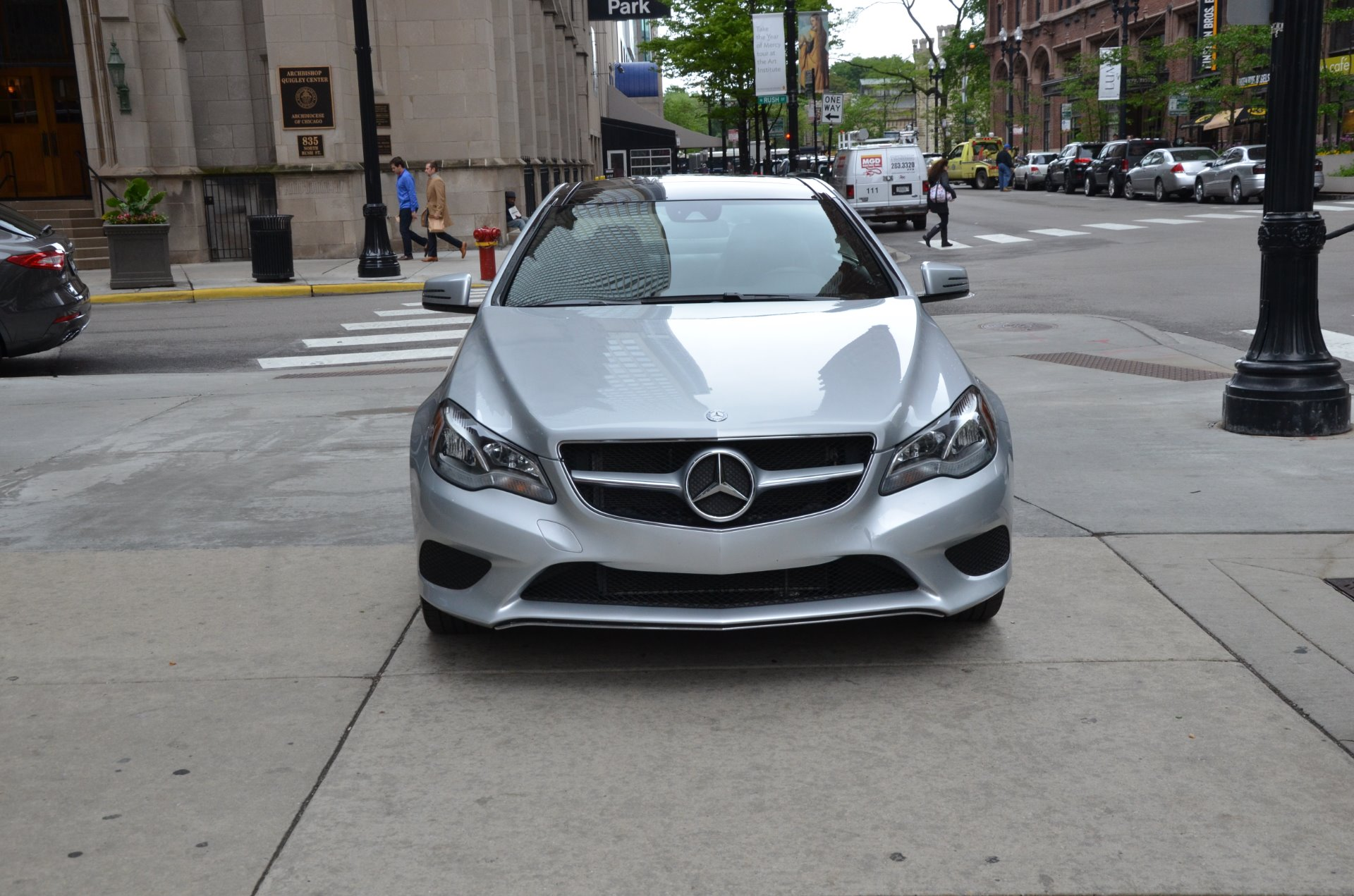 2014 mercedes benz e class e 350 stock 44363 for sale for Mercedes benz dealerships in chicago area