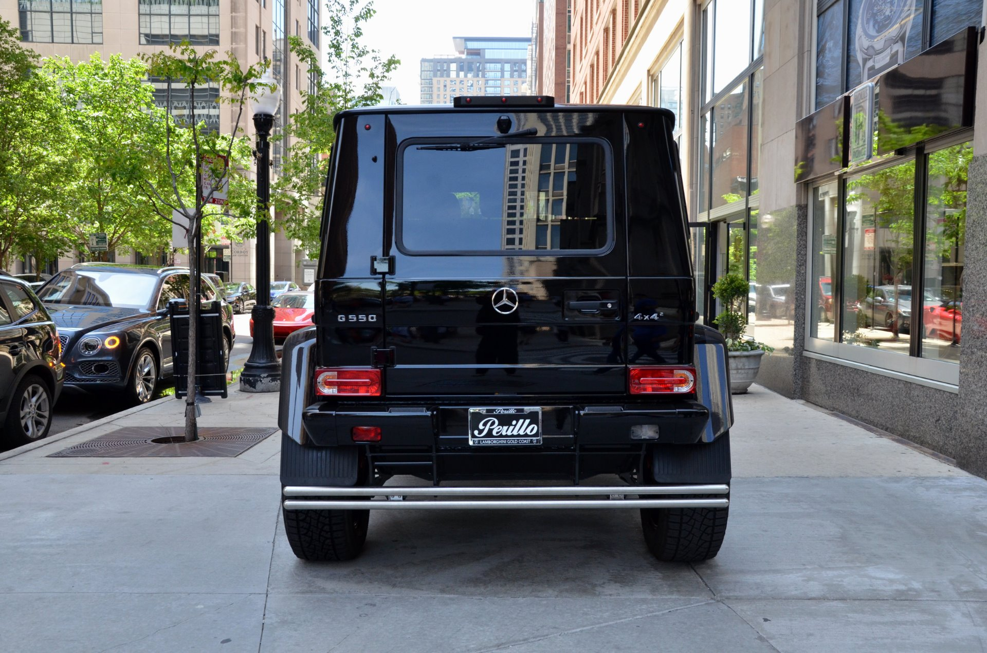 2017 mercedes benz g class g 550 4x4 squared stock 73117 for sale near chicago il il. Black Bedroom Furniture Sets. Home Design Ideas