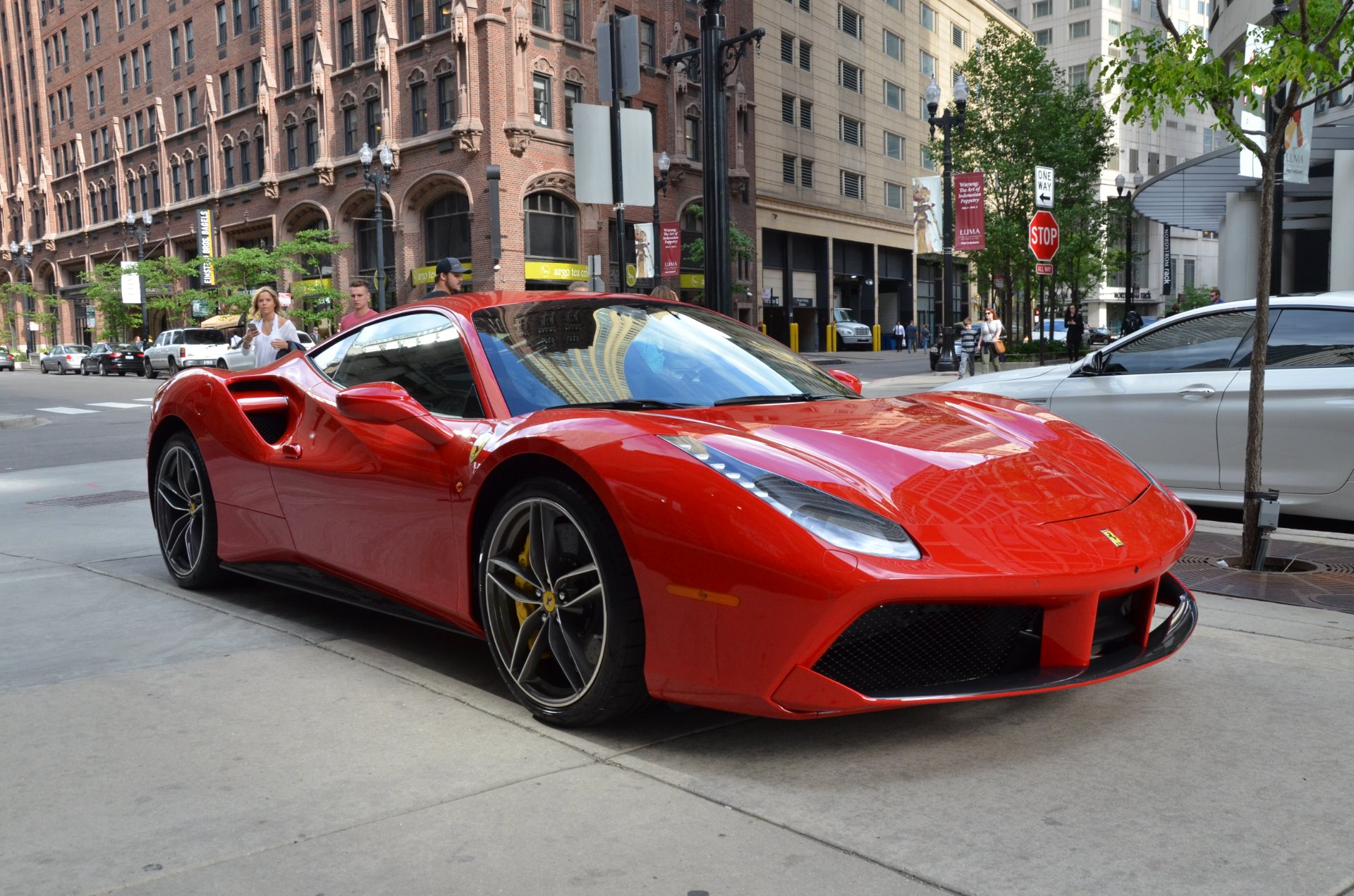 2017 Ferrari 488 GTB Stock # L374AB for sale near Chicago ...