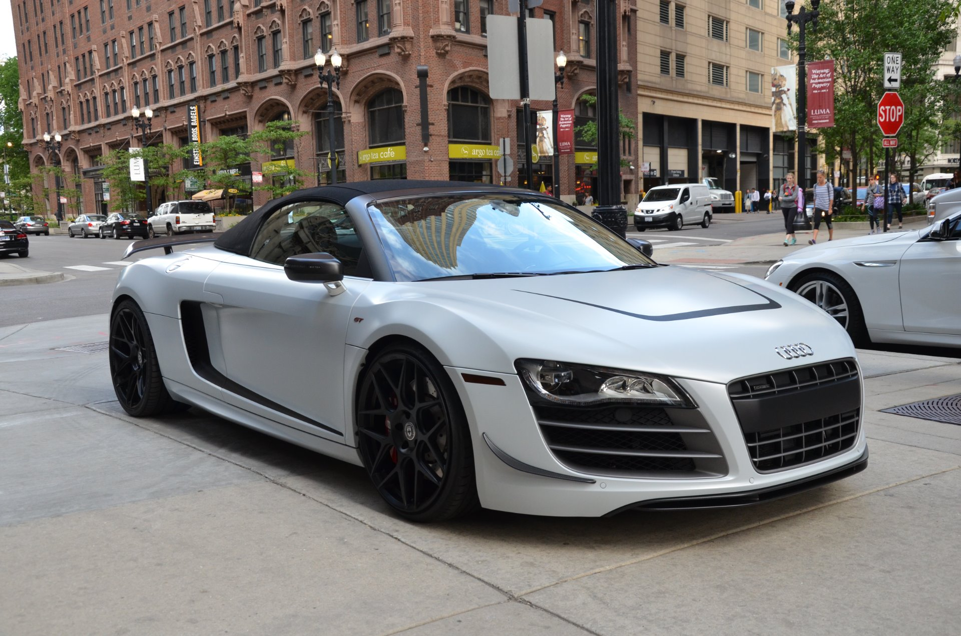 2012 audi r8 gt 5 2 quattro spyder stock l373b for sale. Black Bedroom Furniture Sets. Home Design Ideas