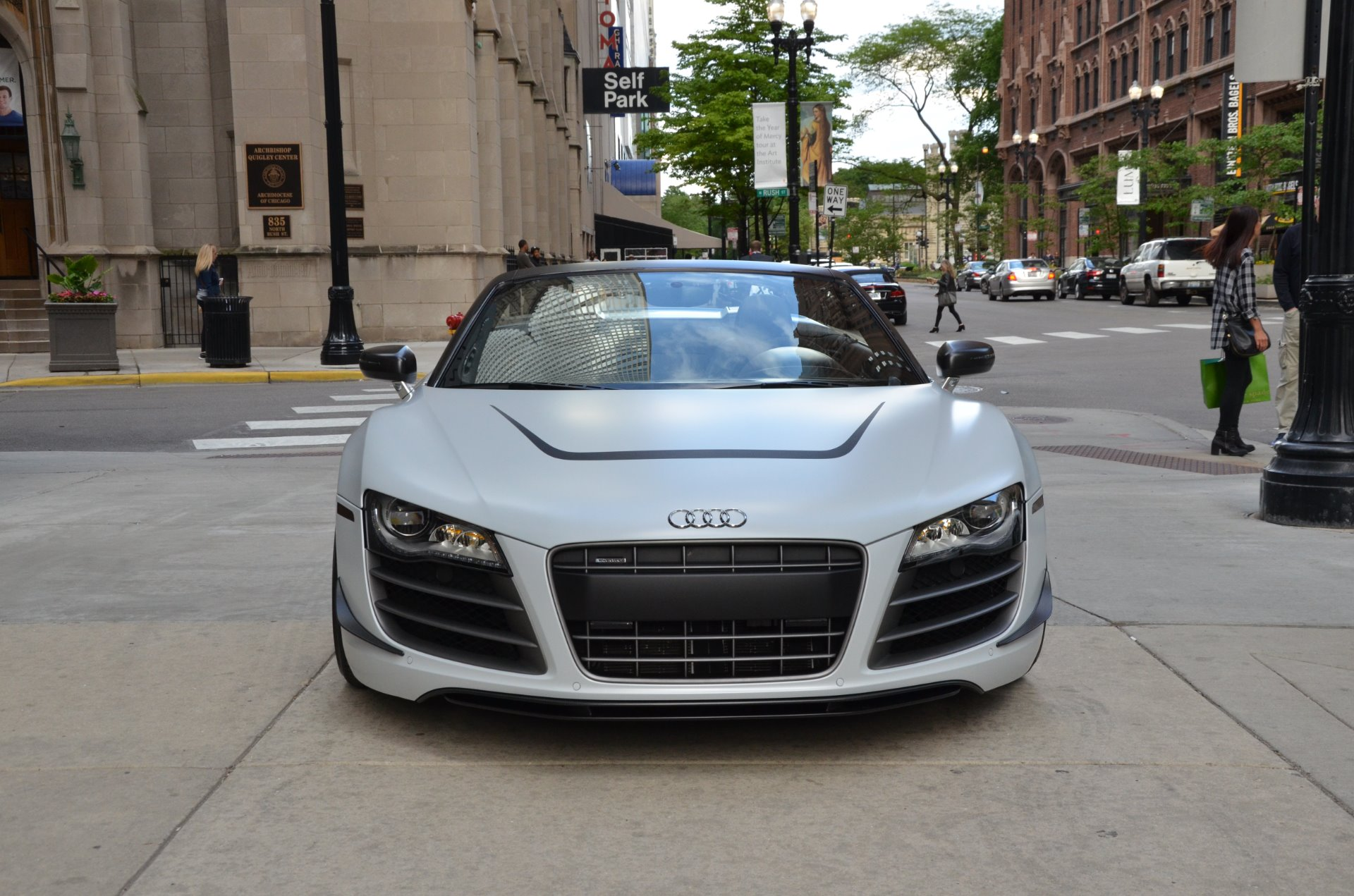 2012 Audi R8 Gt 5 2 Quattro Spyder Stock L373b For Sale
