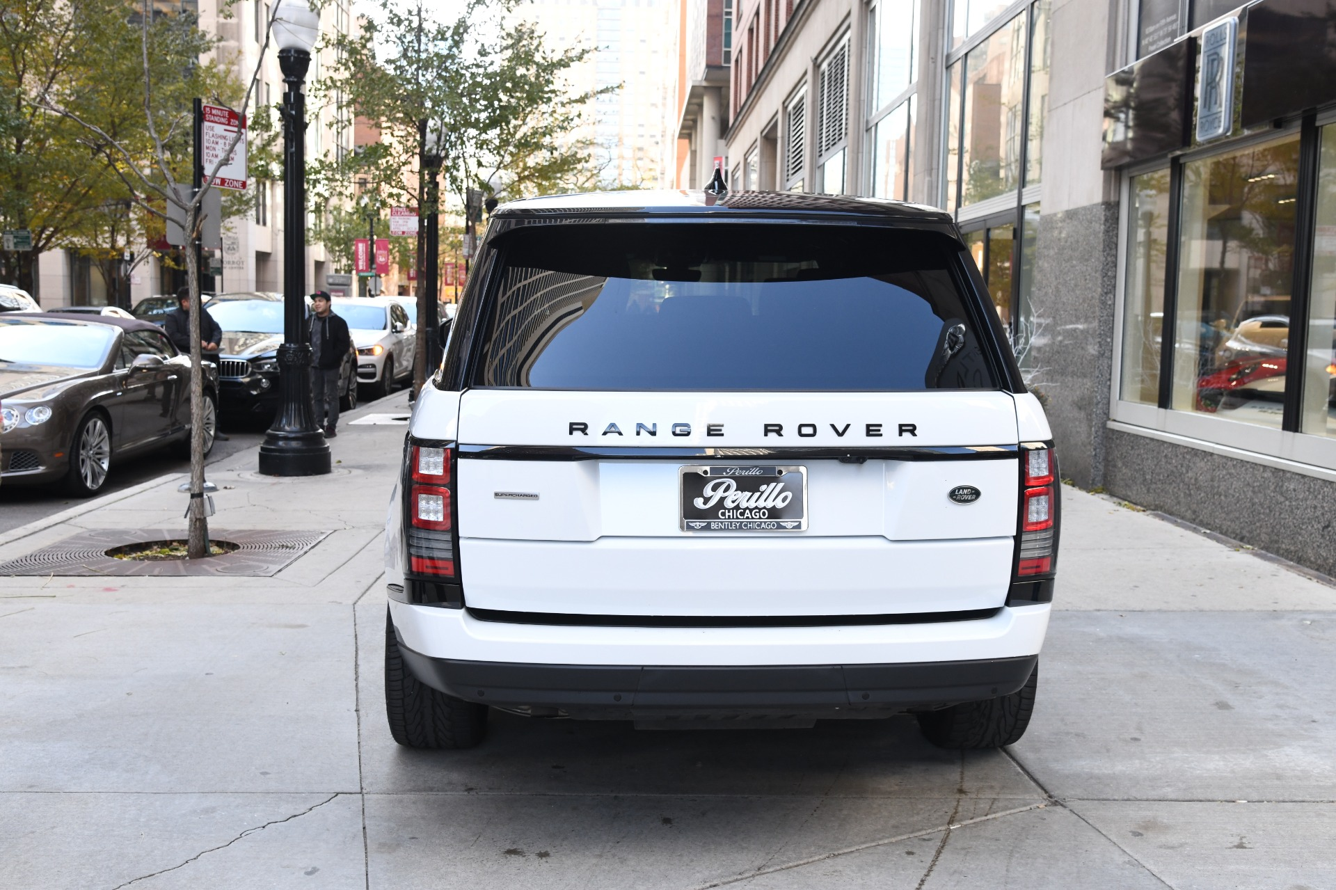 2017 land rover range rover supercharged lwb stock gc2134 for sale near chicago il il land. Black Bedroom Furniture Sets. Home Design Ideas