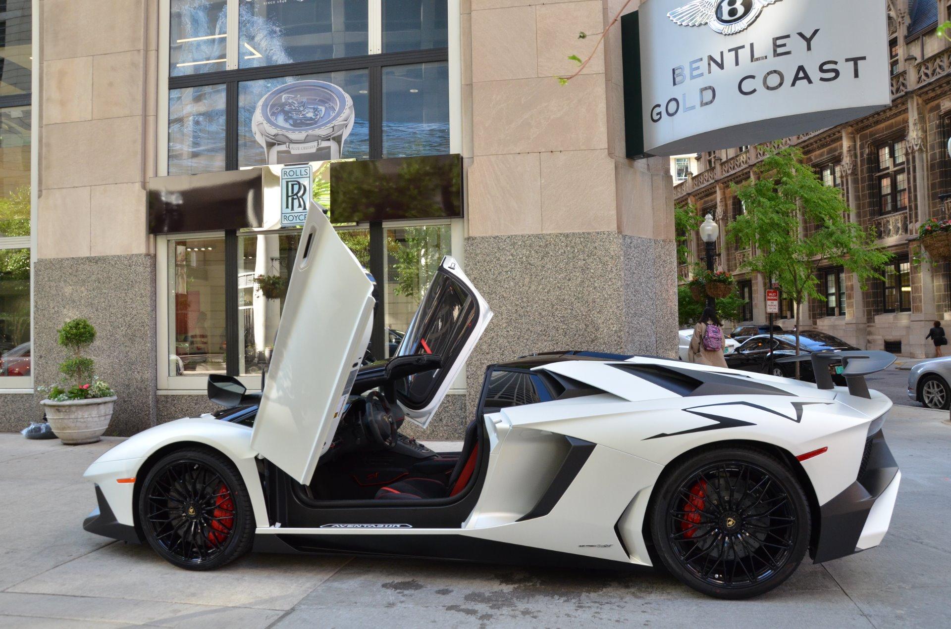 2017 Lamborghini Aventador Sv Roadster Lp 750 4 Sv Stock Gc Mir161 For Sale Near Chicago Il Il Lamborghini Dealer