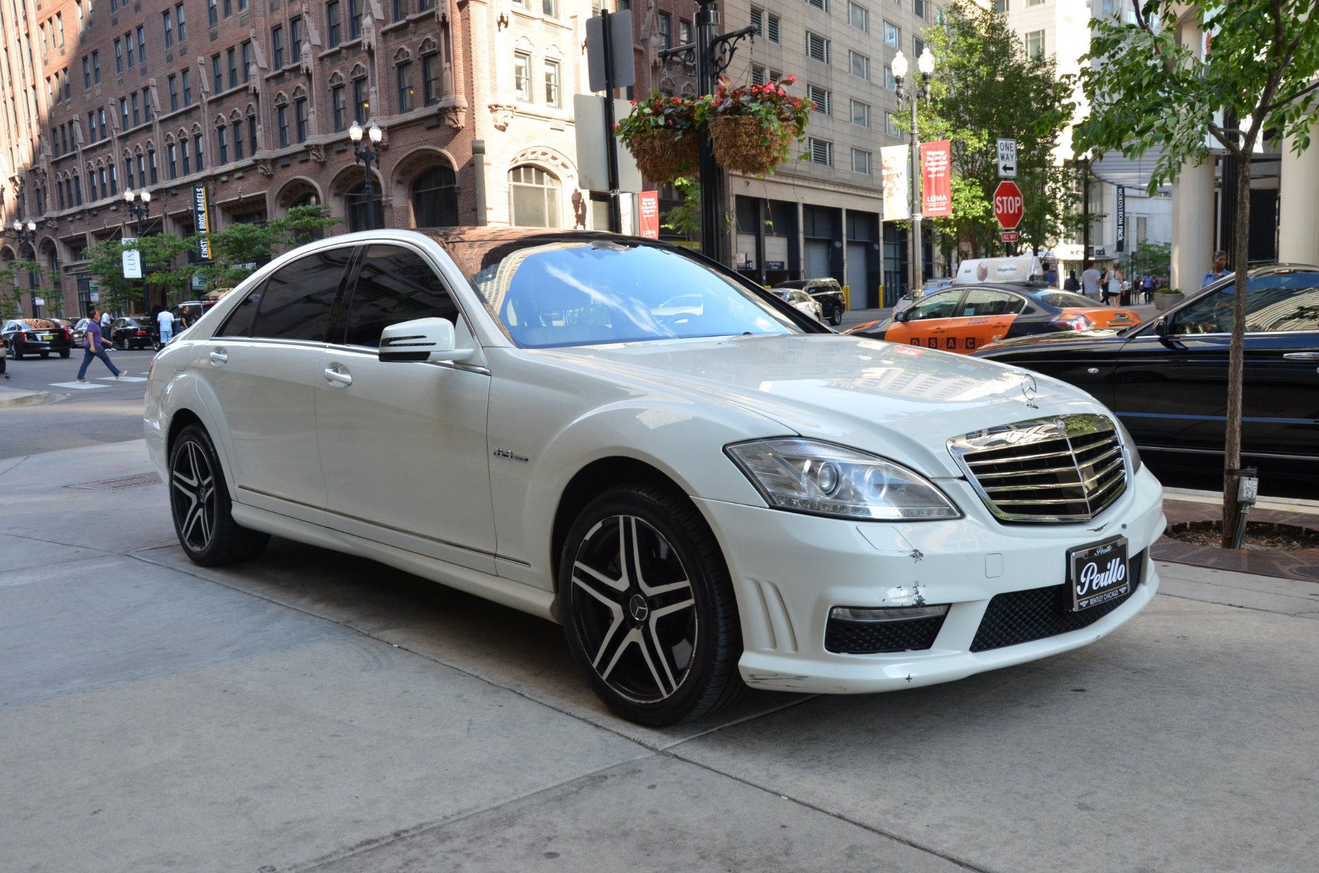 2009 mercedes benz s class s 63 amg stock 25633 for sale for Mercedes benz of chicago service center chicago il