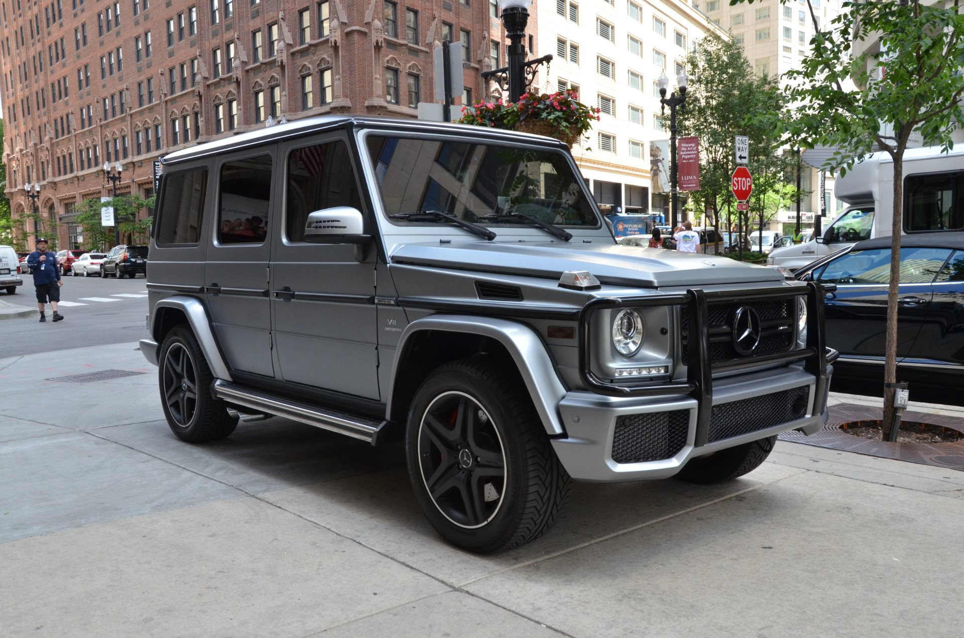 2017 Mercedes Benz G Class Amg G 63 Stock 74287 For Sale Near