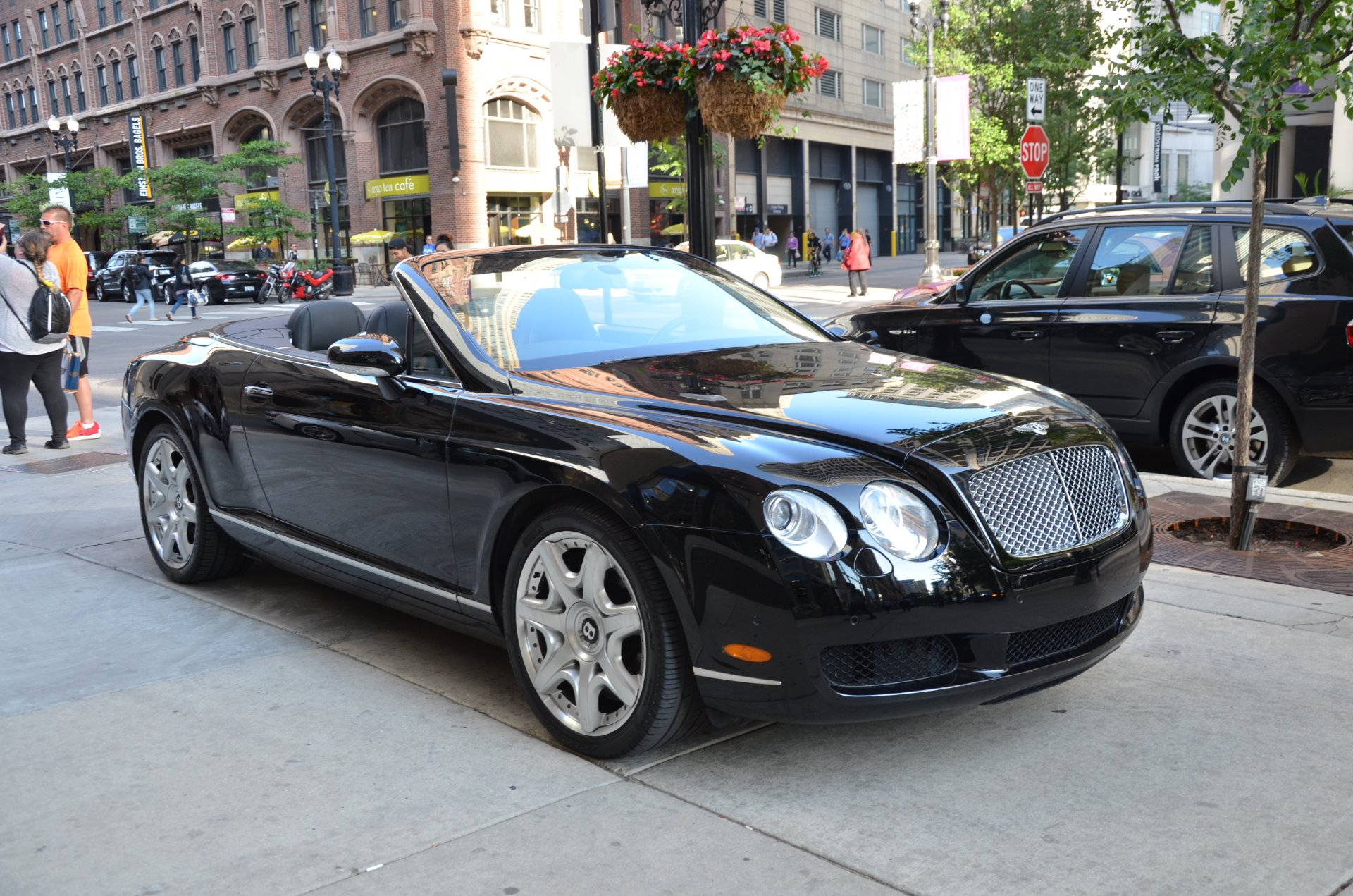 2008 Bentley Continental GTC Stock B933AA for sale near Chicago