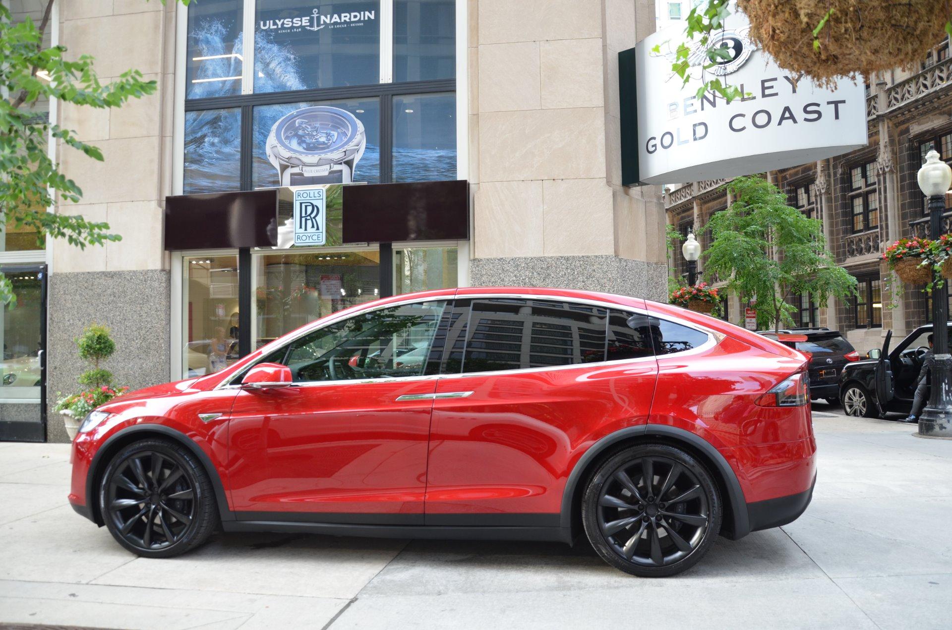 2016 Tesla Model X 75d Stock L380b For Sale Near Chicago