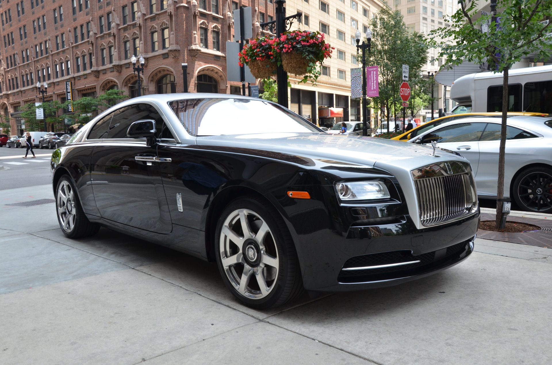 2014 rolls royce wraith stock r413a for sale near chicago il il rolls royce dealer. Black Bedroom Furniture Sets. Home Design Ideas