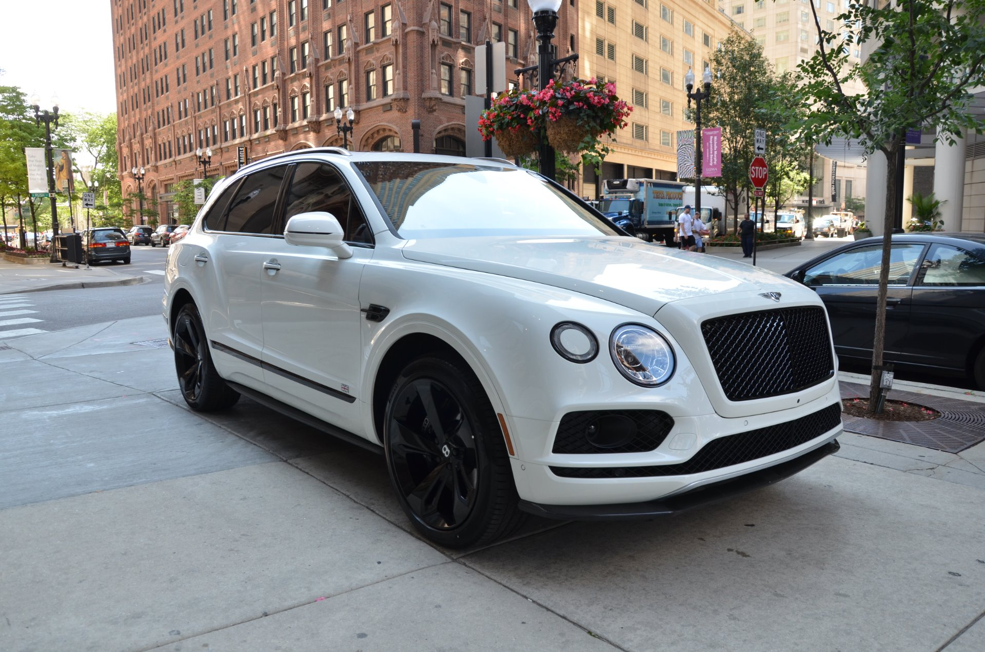 2018 Bentley Bentayga Black Edition Stock B959 S For Sale Near Chicago Il Il Bentley Dealer