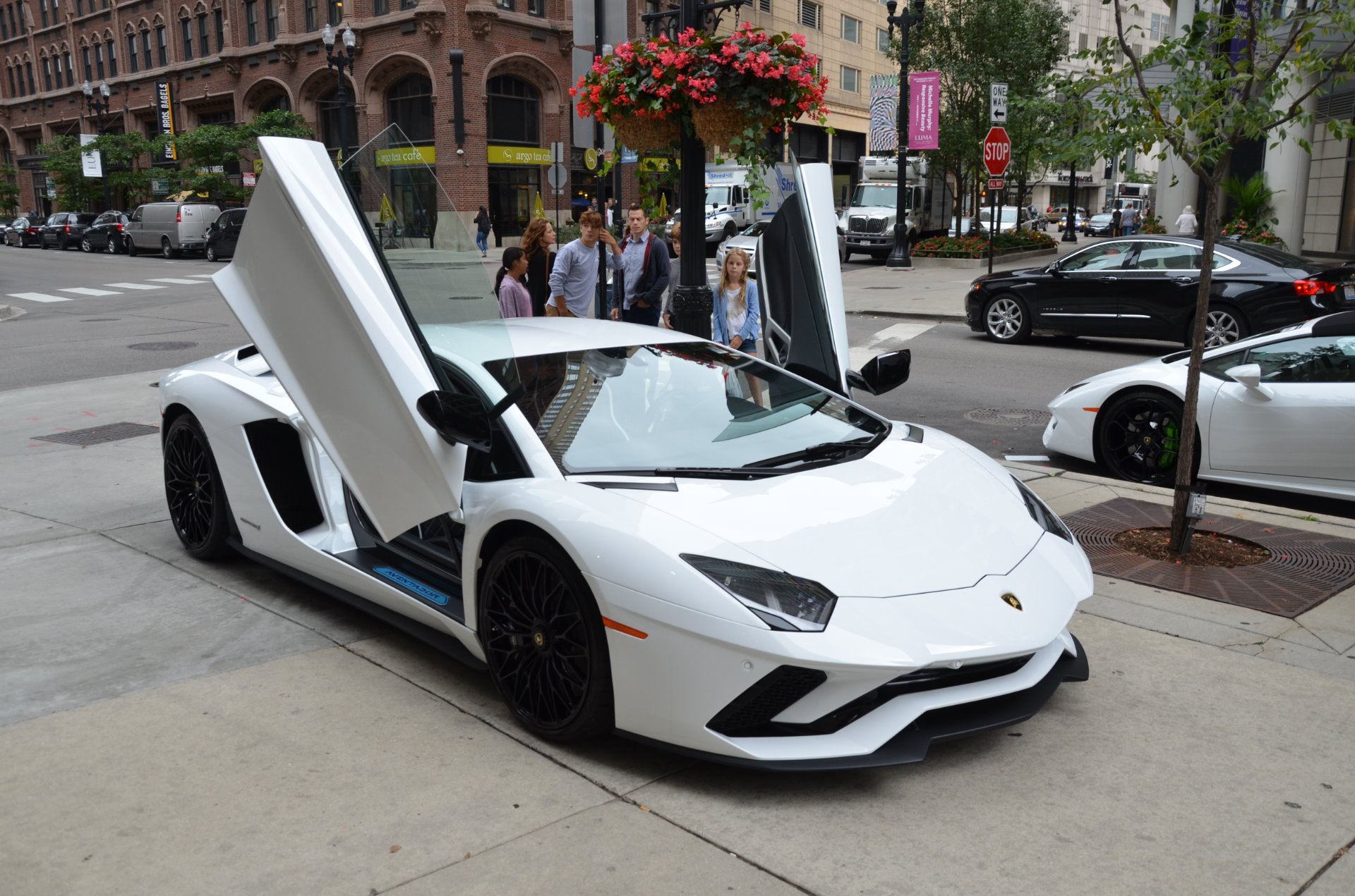 new lamborghini 2018. unique lamborghini new 2018 lamborghini aventador s lp 7404  chicago il to new lamborghini