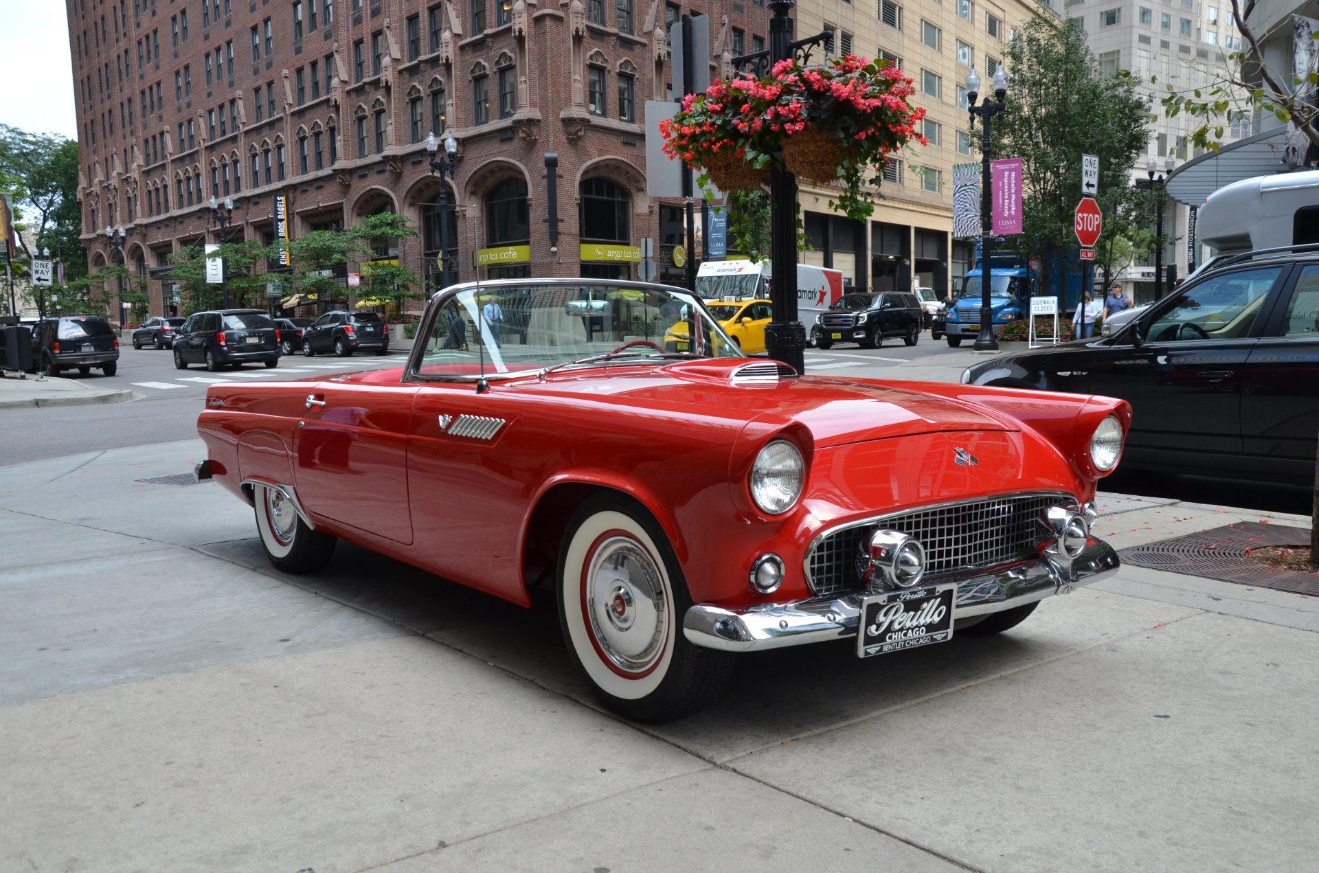 1955 ford thunderbird stock ford for sale near chicago il il ford dealer. Black Bedroom Furniture Sets. Home Design Ideas