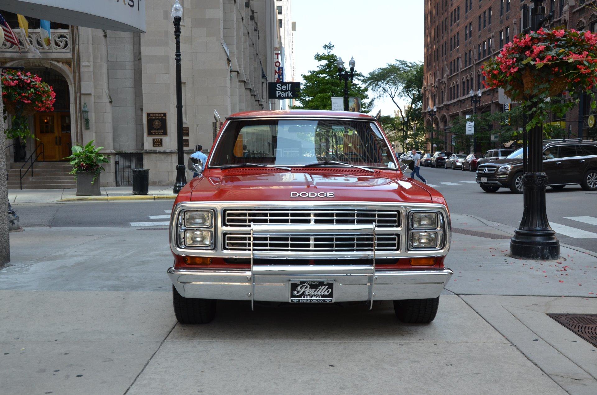 Used 1979 dodge d150 li l red express chicago il
