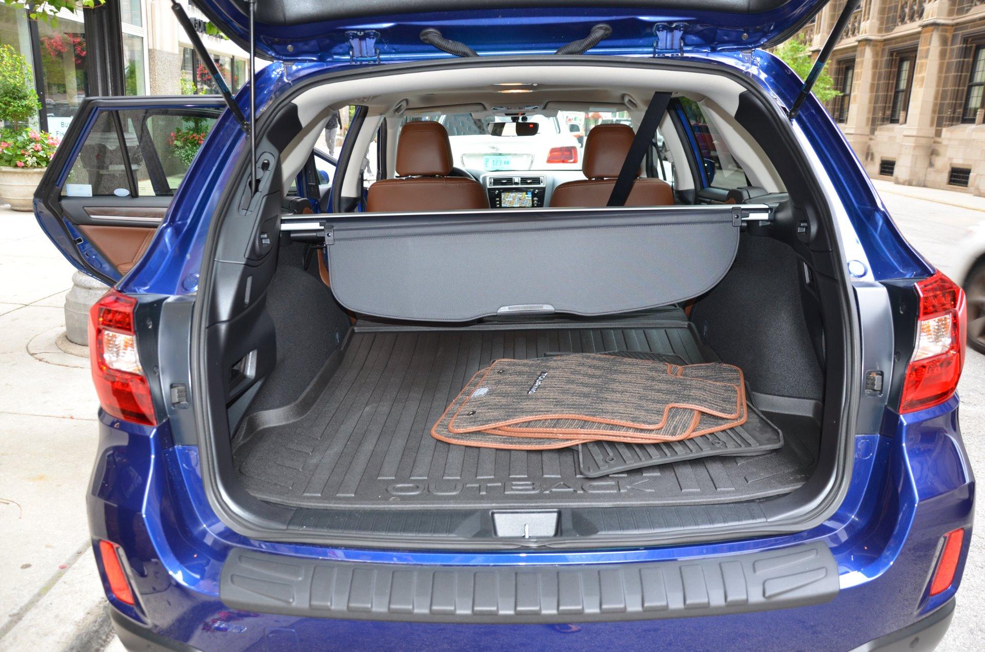 Subaru Outback  R Touring Storage