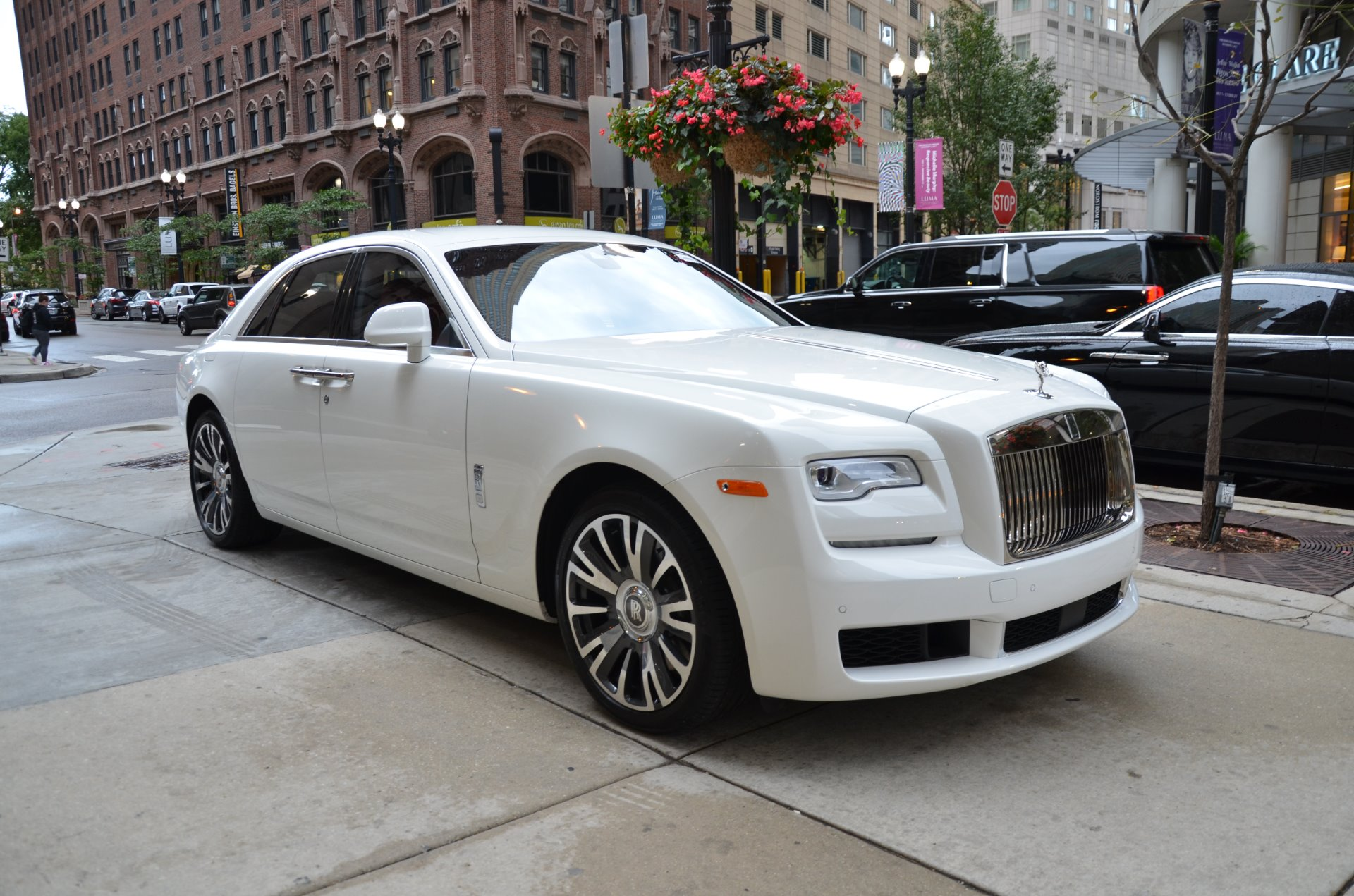 2018 rolls royce ghost stock r438 for sale near chicago. Black Bedroom Furniture Sets. Home Design Ideas