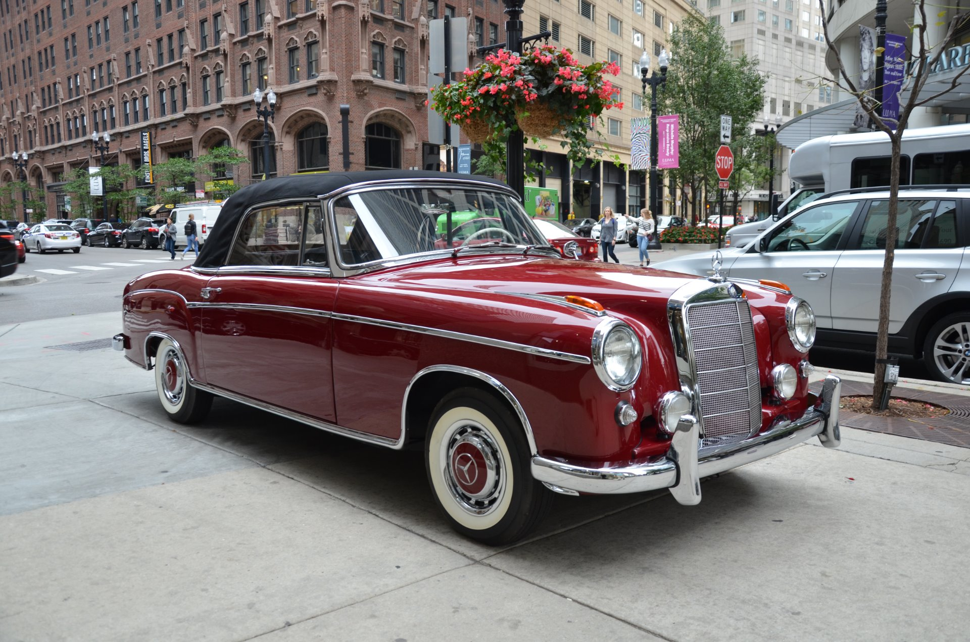 1960 mercedes benz 220 se stock 03229 for sale near for Mercedes benz chicago il