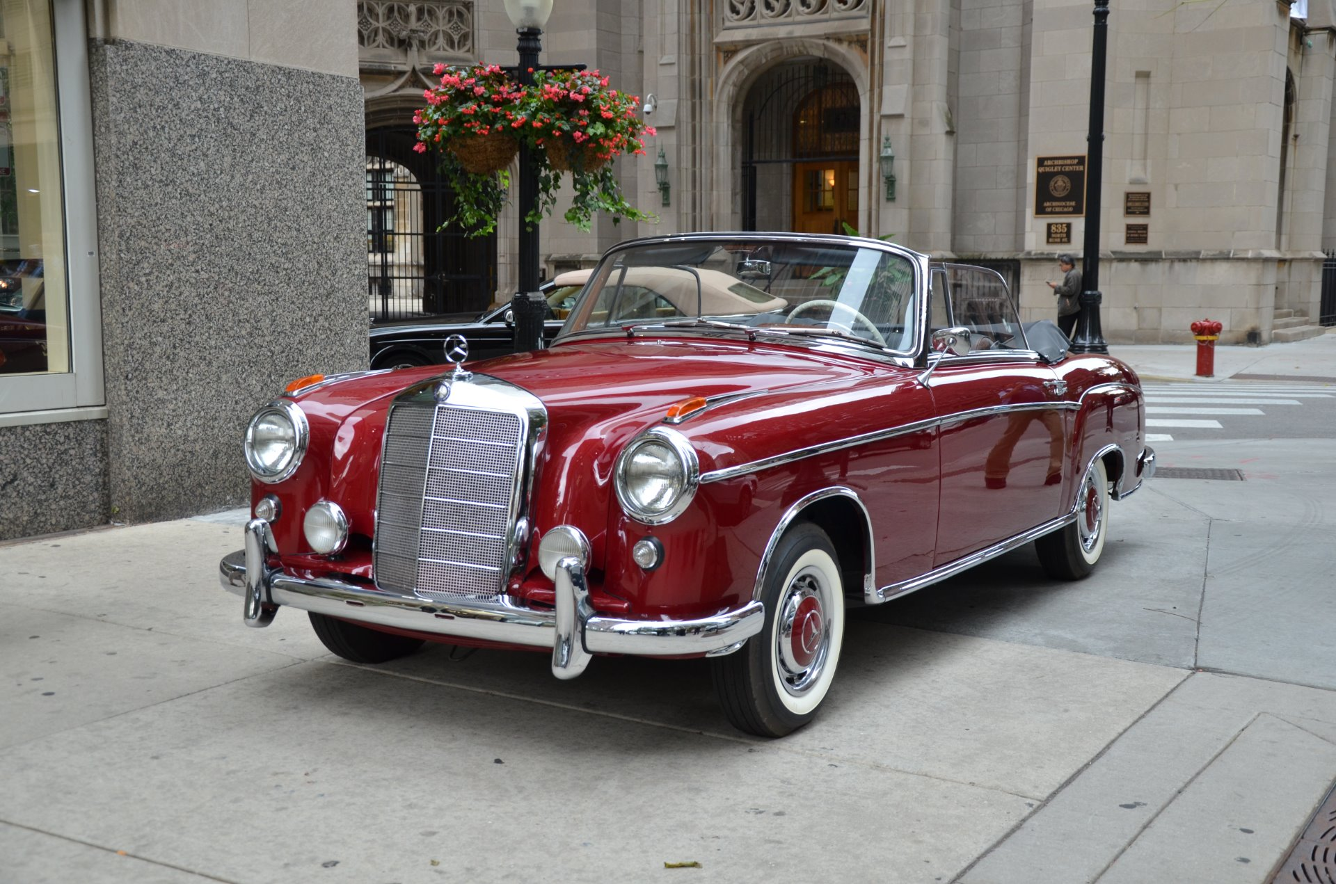 1960 mercedes benz 220 se stock 03229 for sale near for Chicagoland mercedes benz dealers