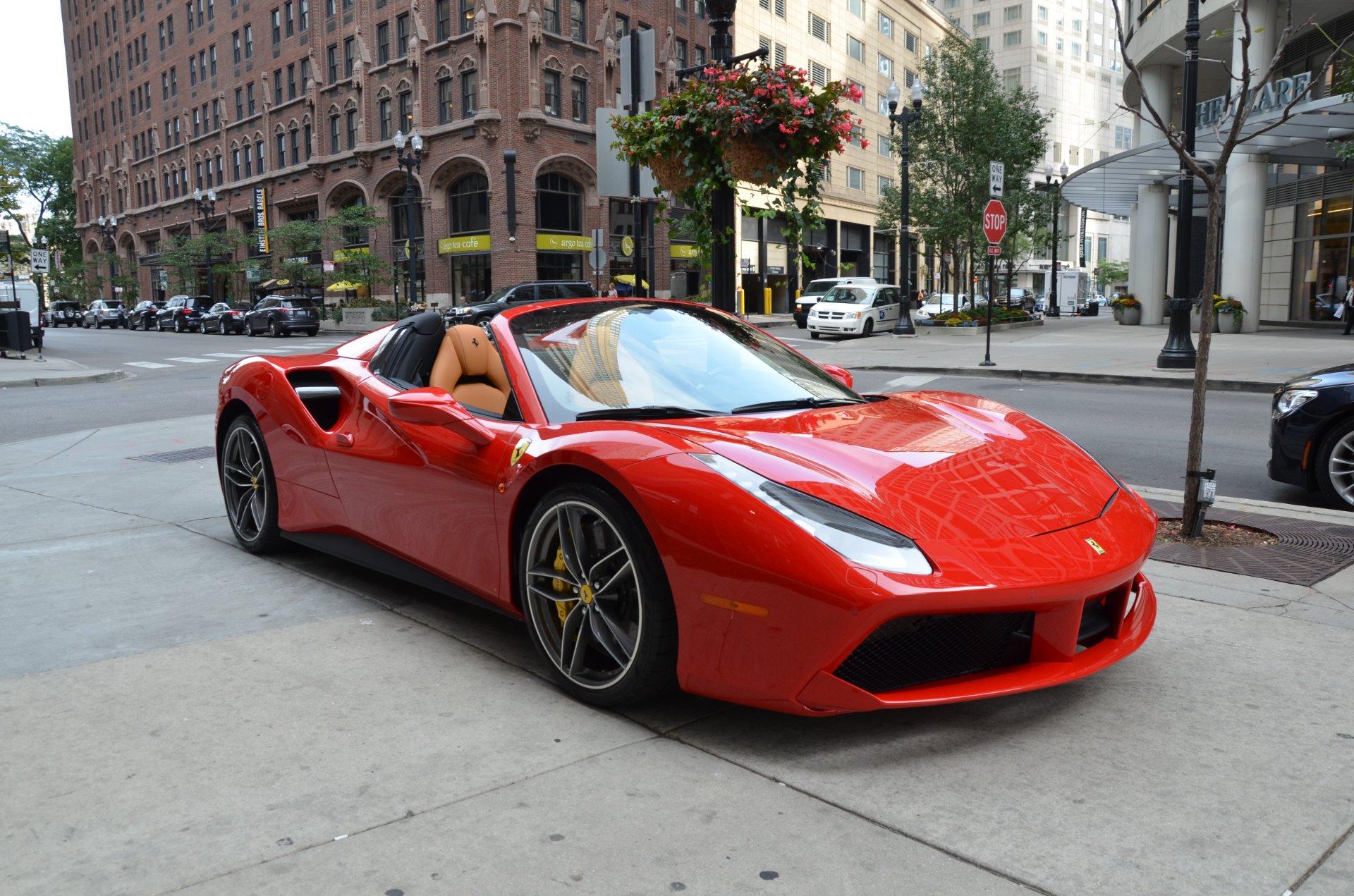 Used 2018 Ferrari 488 Spider Chicago Il
