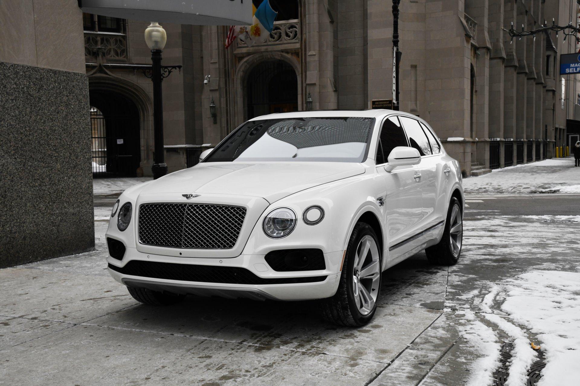 2018 Bentley Bentayga Onyx Edition Stock C17521 For Sale Near Chicago Il Il Bentley Dealer