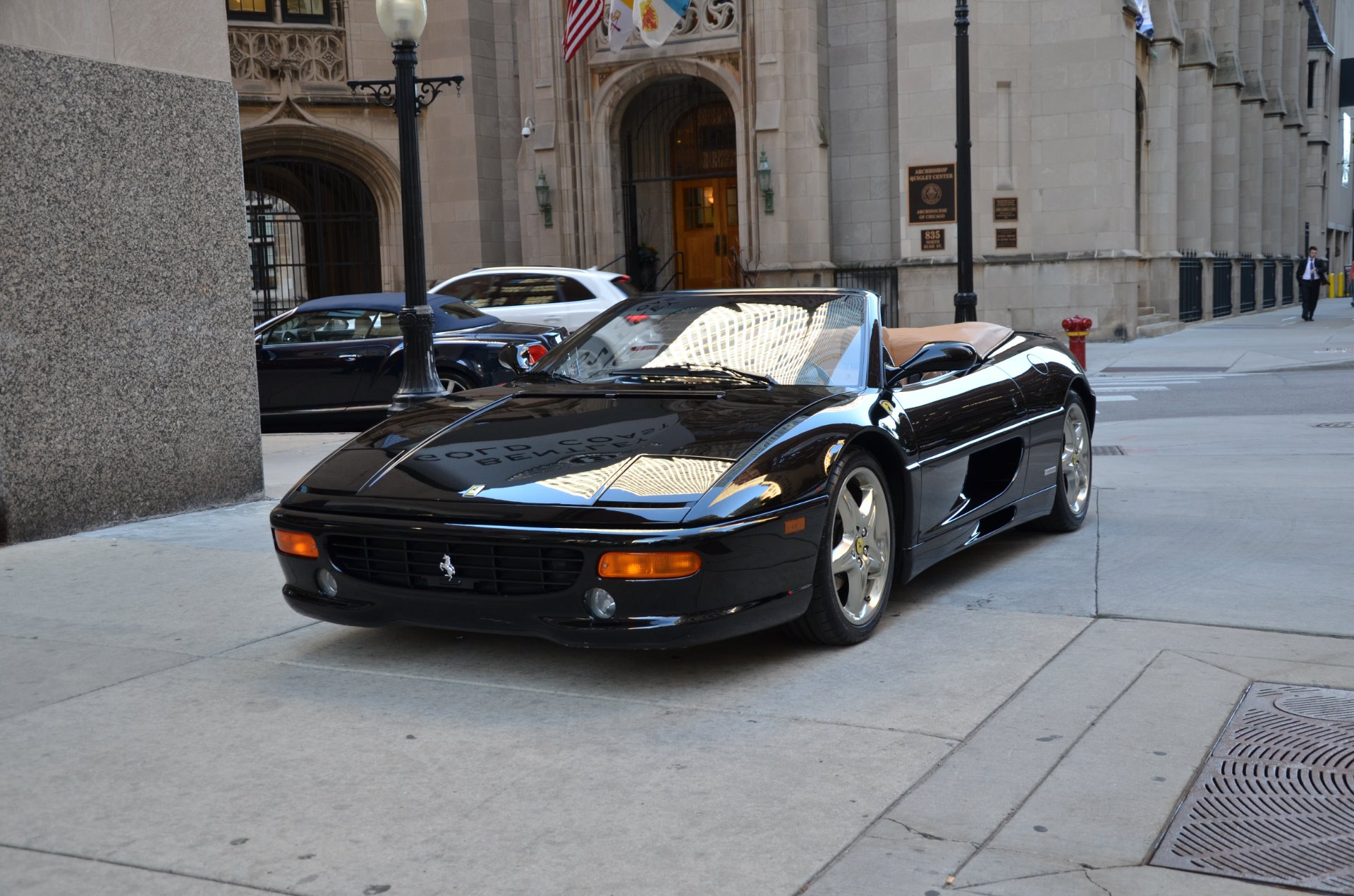 1995 ferrari f355 spider convertible stock 04075 for. Black Bedroom Furniture Sets. Home Design Ideas