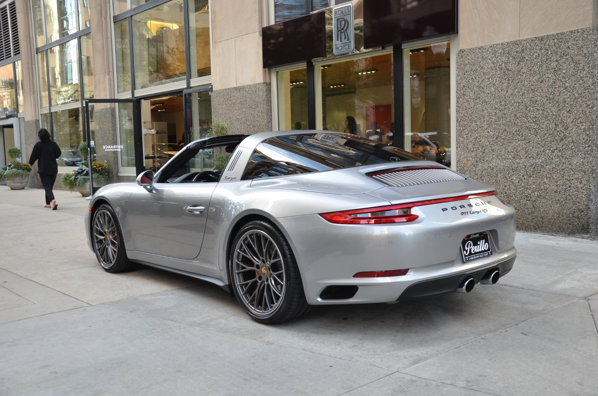 2017 Porsche 911 Targa 4s Stock L304ab For Sale Near