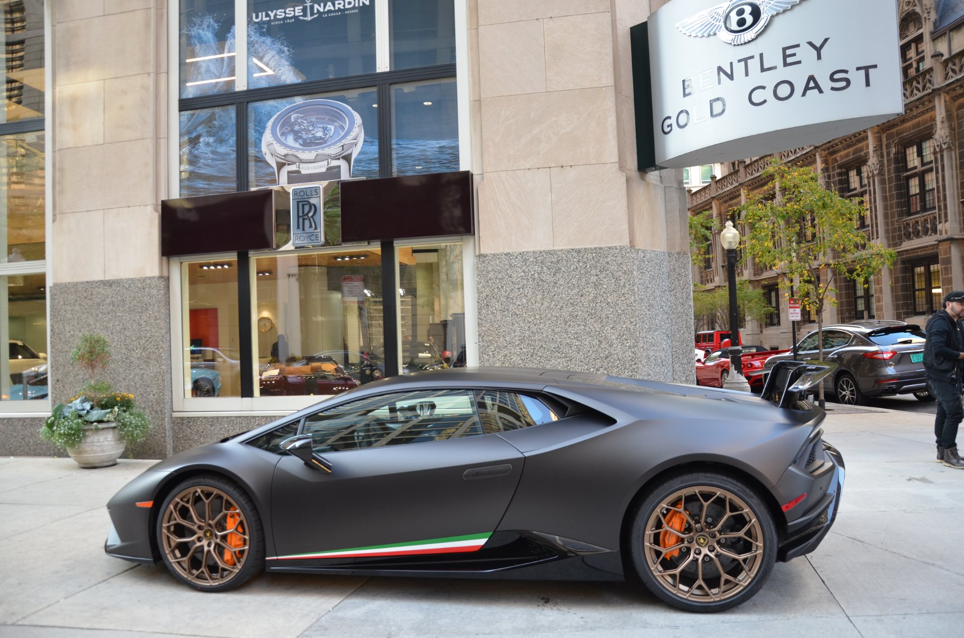 2018 Lamborghini Huracan Lp 640 4 Performante Stock L414