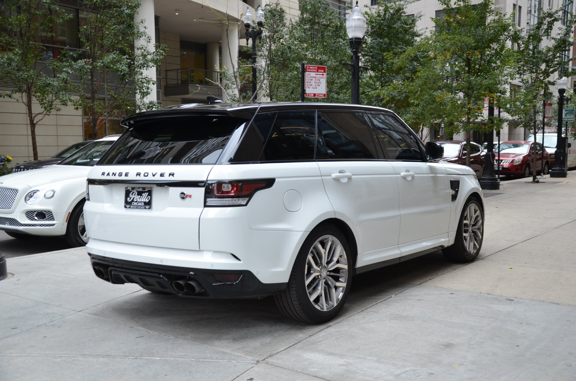 2017 land rover range rover sport svr stock l416a for sale near chicago il il land rover dealer. Black Bedroom Furniture Sets. Home Design Ideas