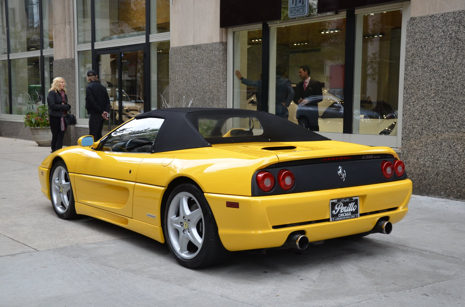 1997 ferrari f355 spider stock 08281 for sale near. Black Bedroom Furniture Sets. Home Design Ideas