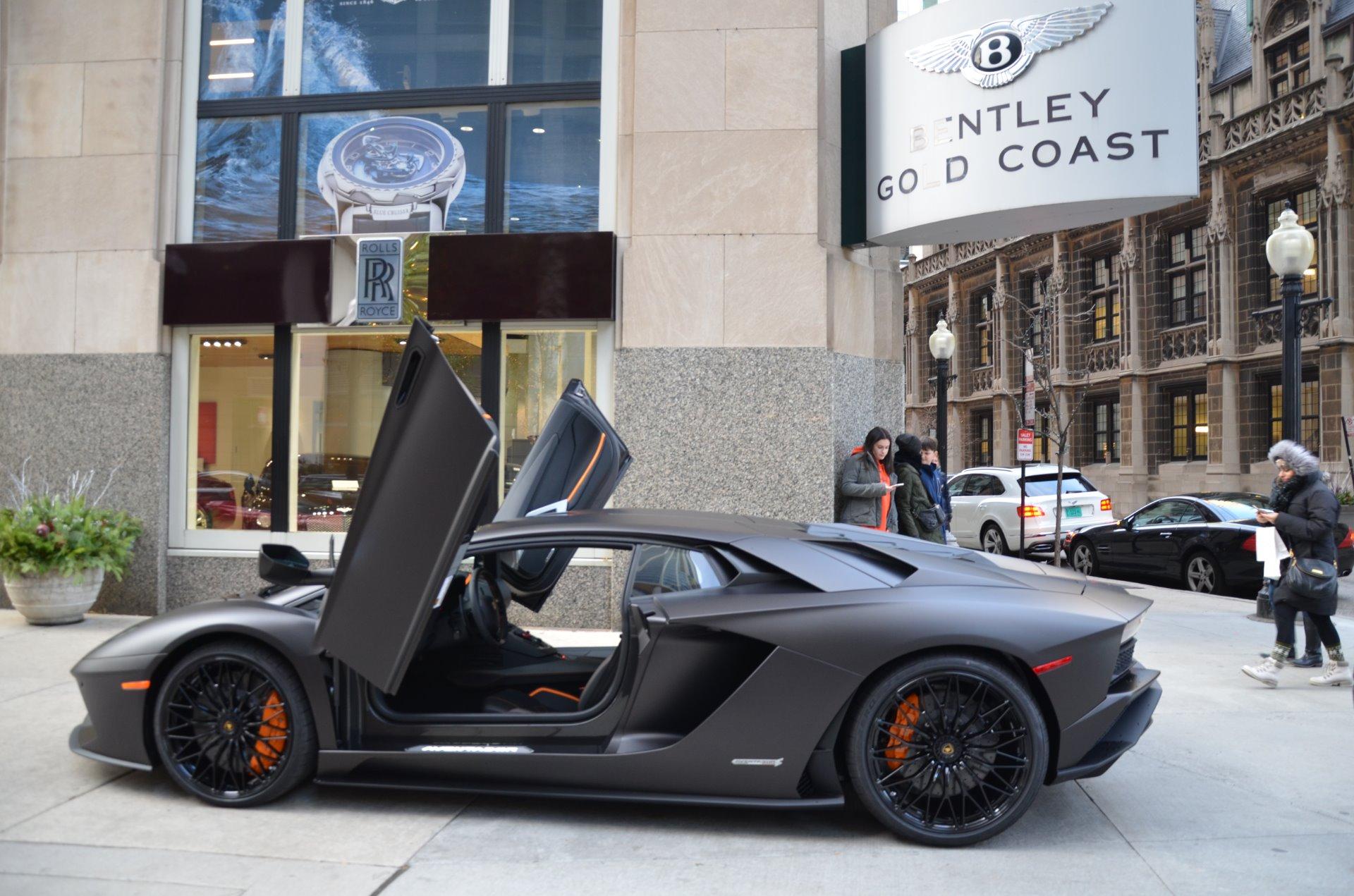 New 2018 Lamborghini Aventador S LP 740 4 S