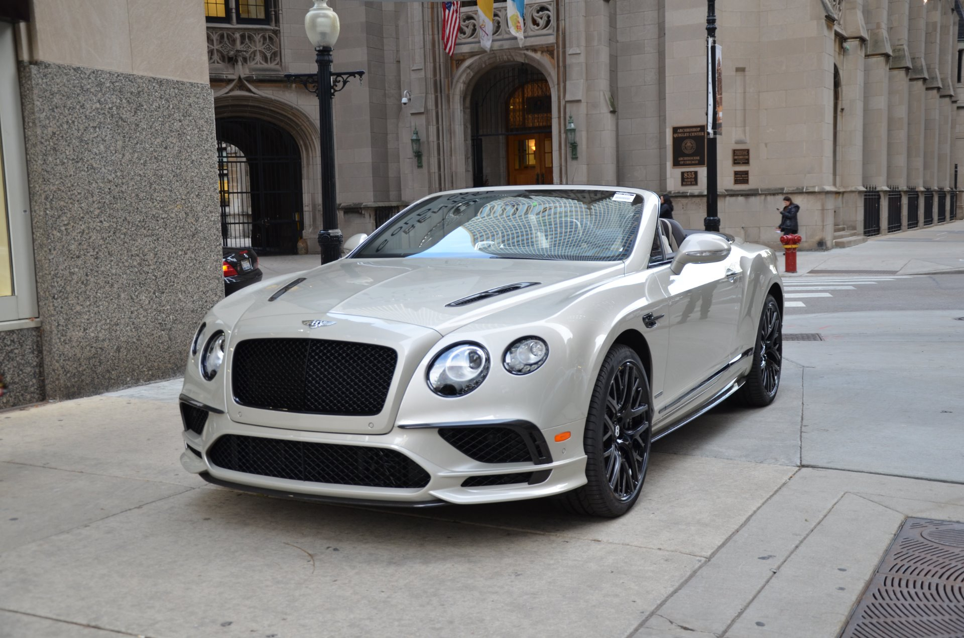 New 2018 Bentley Continental Supersports Convertible Chicago Il