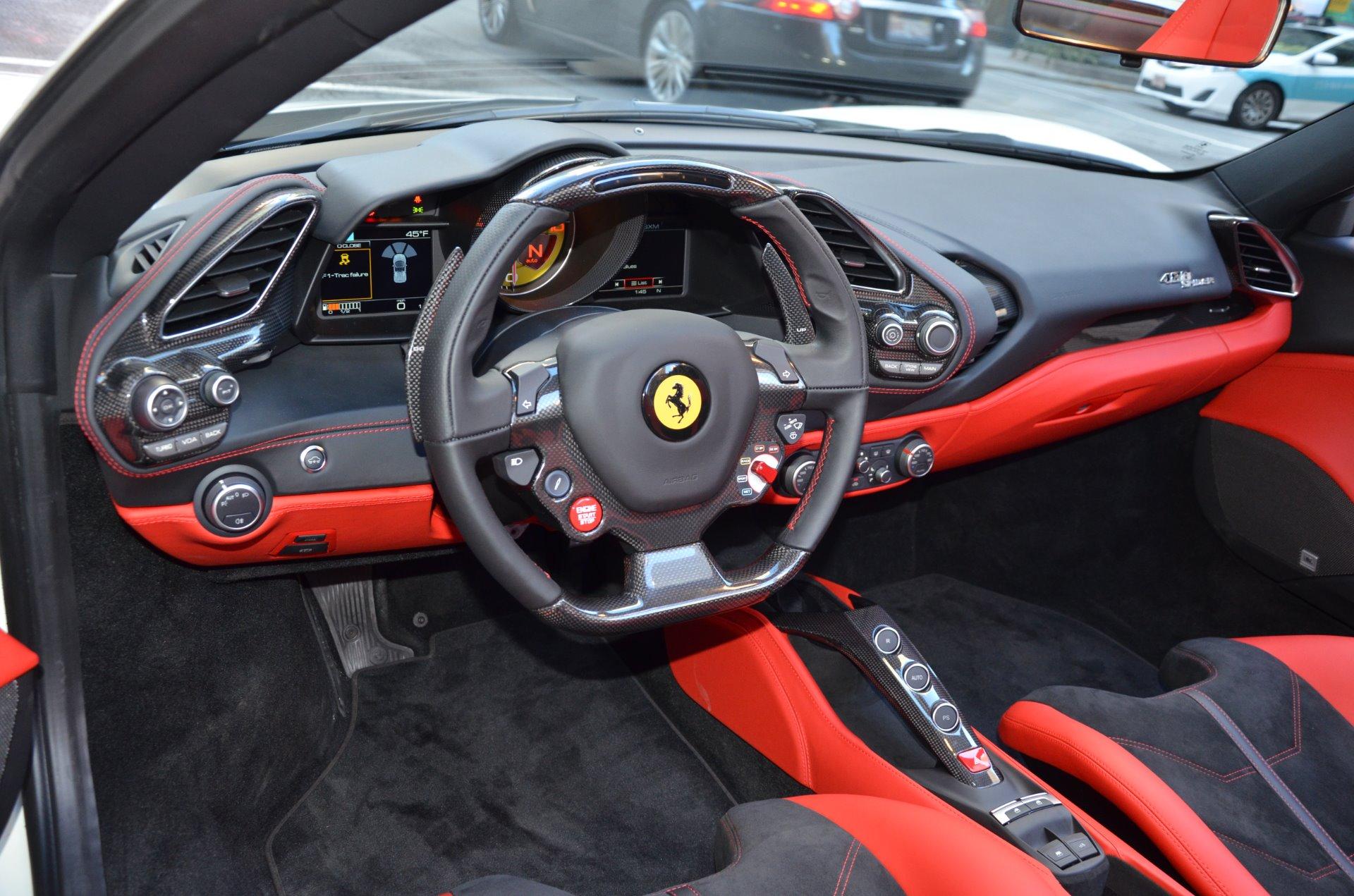 2018 Ferrari 488 Spider Stock Gc2258 For Sale Near Chicago Il Il Ferrari Dealer